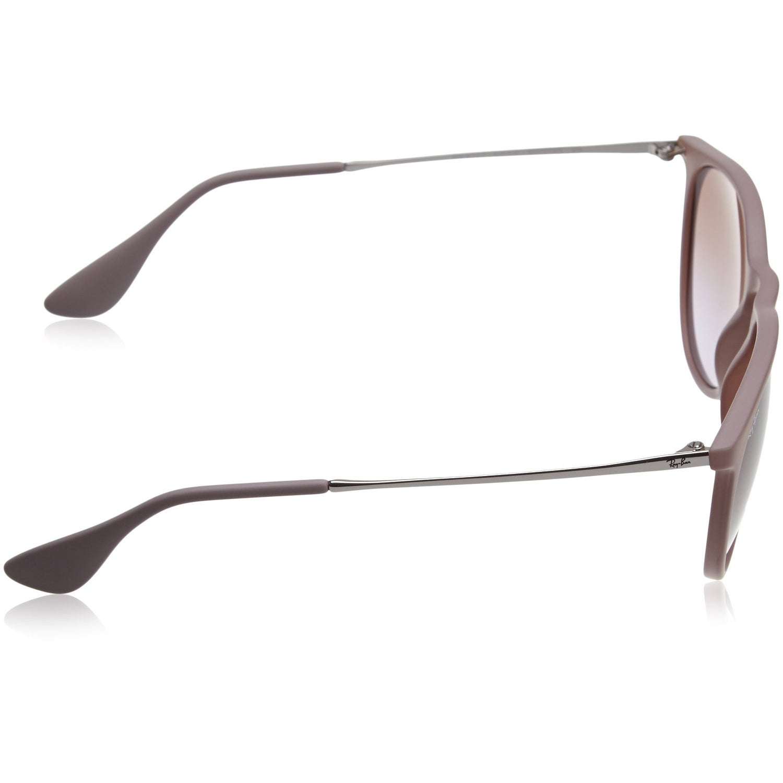 335c0bbc78 Shop RayBan Women s 54MM Erika Wayfarer Sunglasses (Rubber Sand Frame Brown  Violet Gradient Lens) - Free Shipping Today - Overstock - 12048659