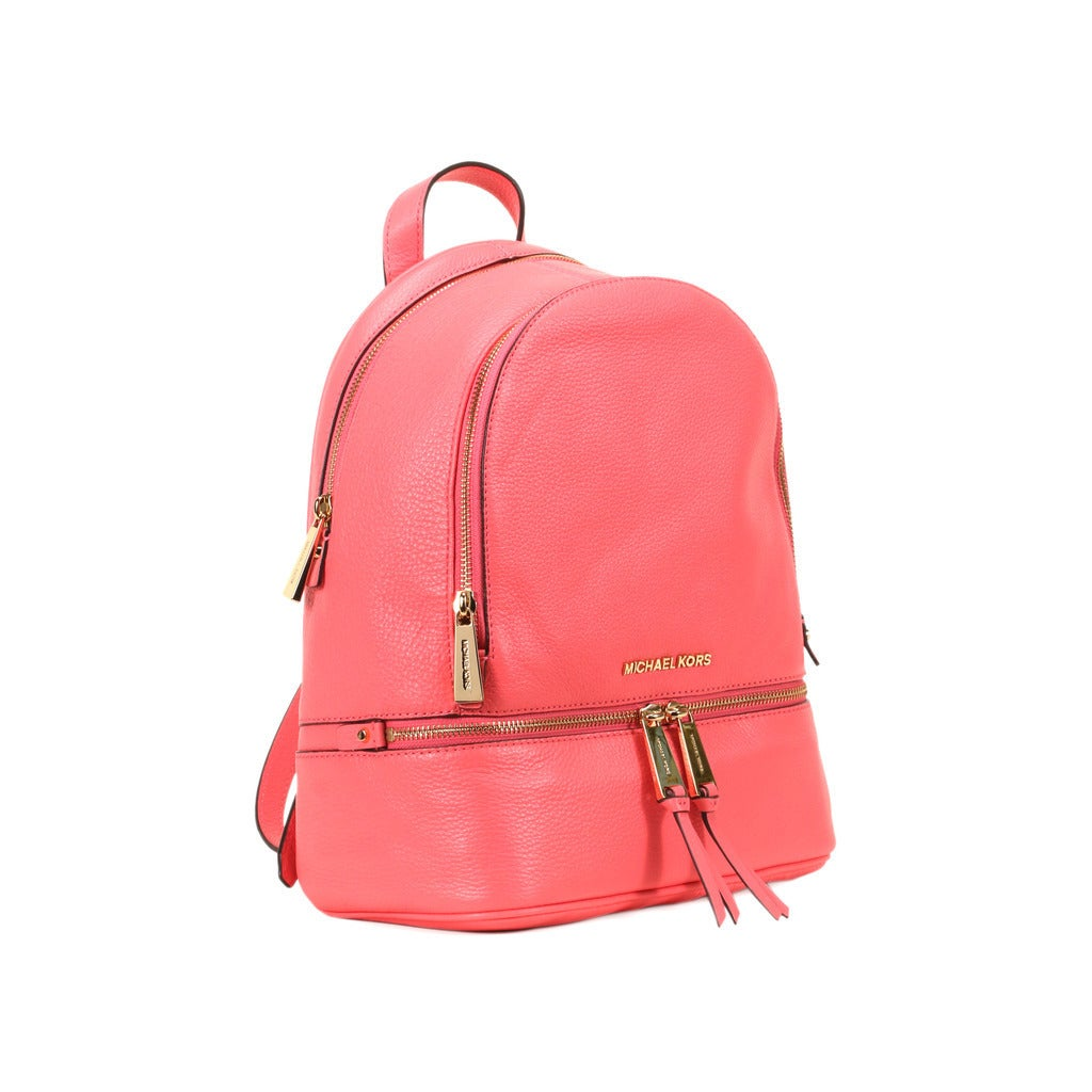 c7802723ba0a1f Shop Michael Kors Coral Rhea Zip Small Fashion Backpack - Free Shipping  Today - Overstock - 12050567