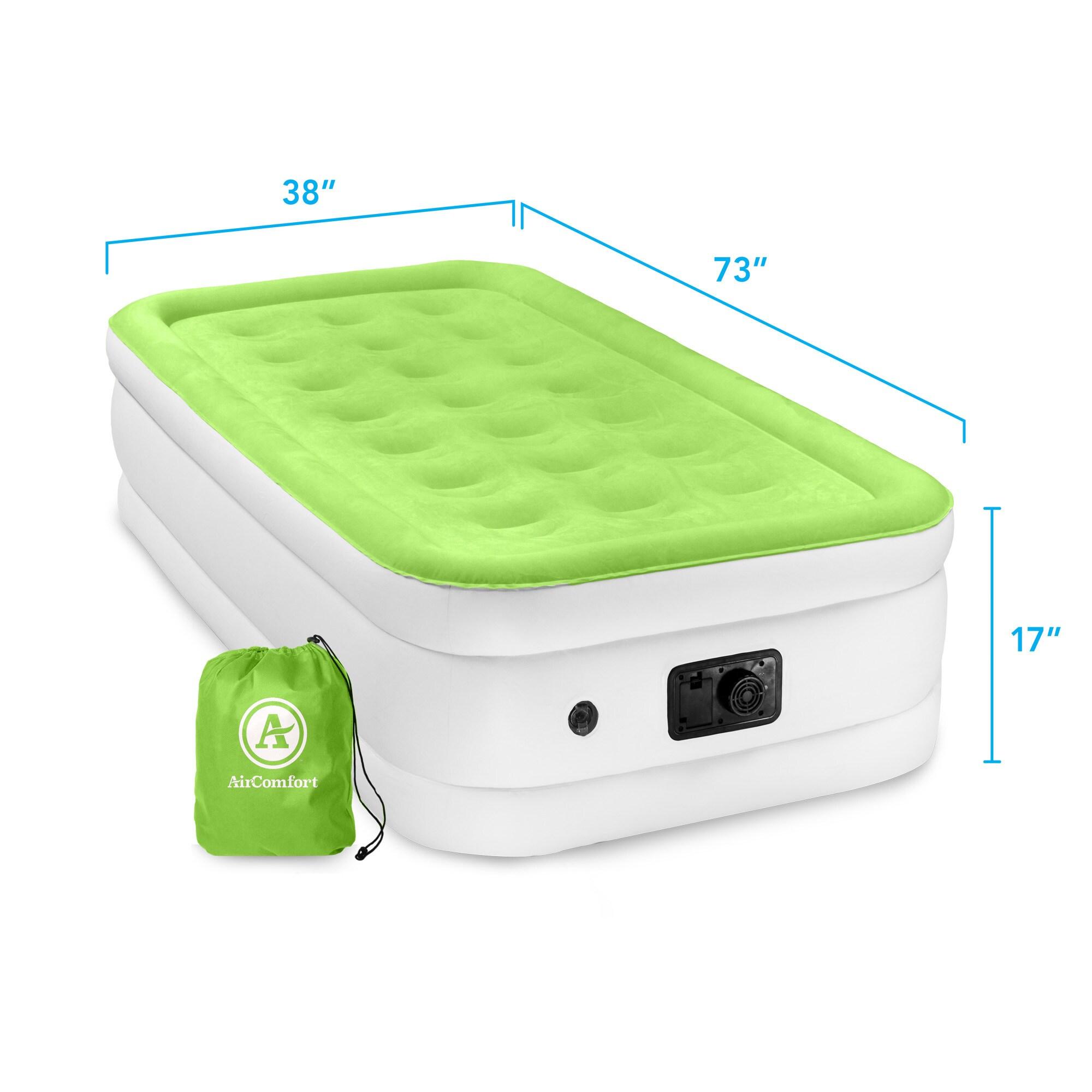 pure air mattresses raised mattress reviews comfort wayfair pdx