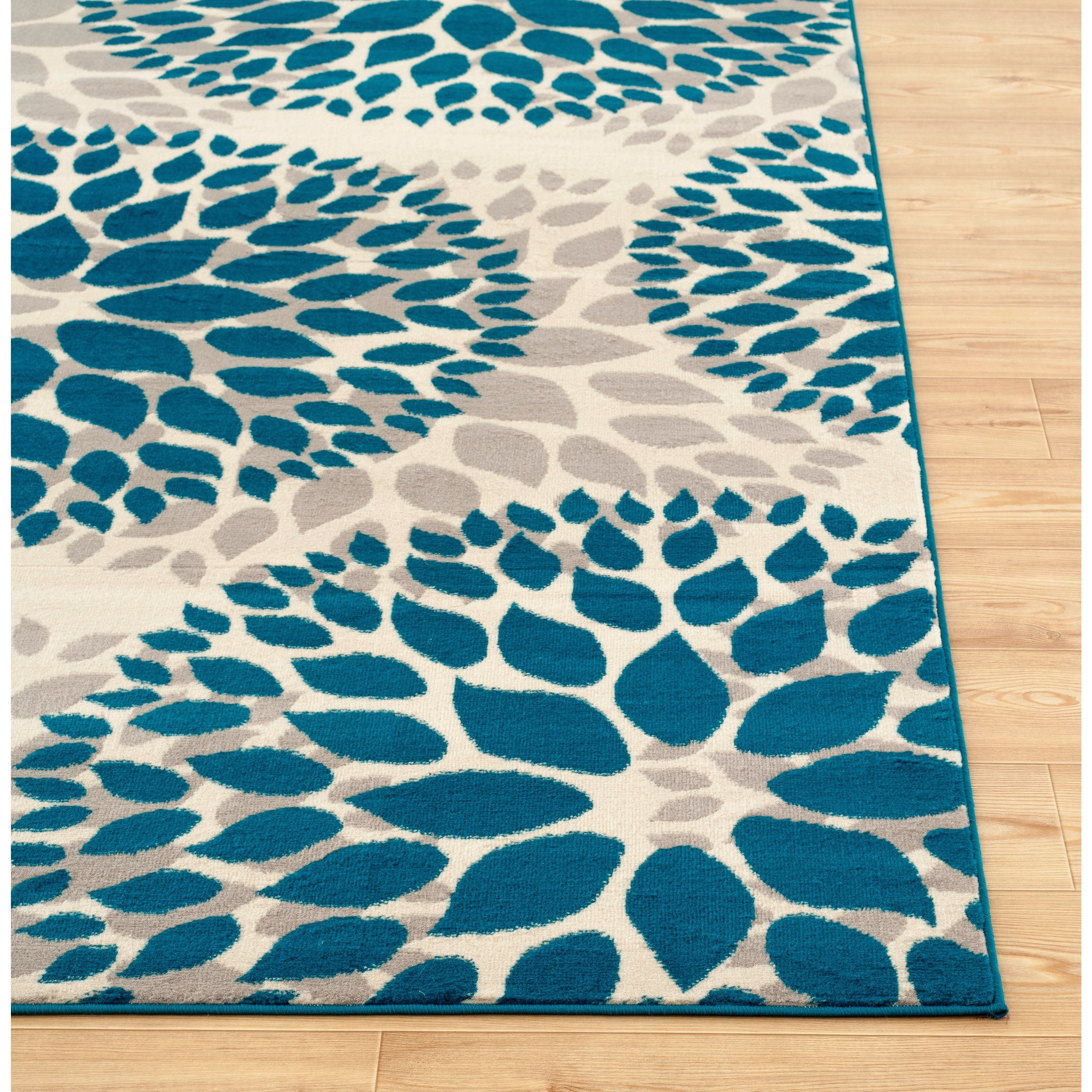 modern flatweave kukoon bevs colwyn indigo room ivory runner cotton rug blue