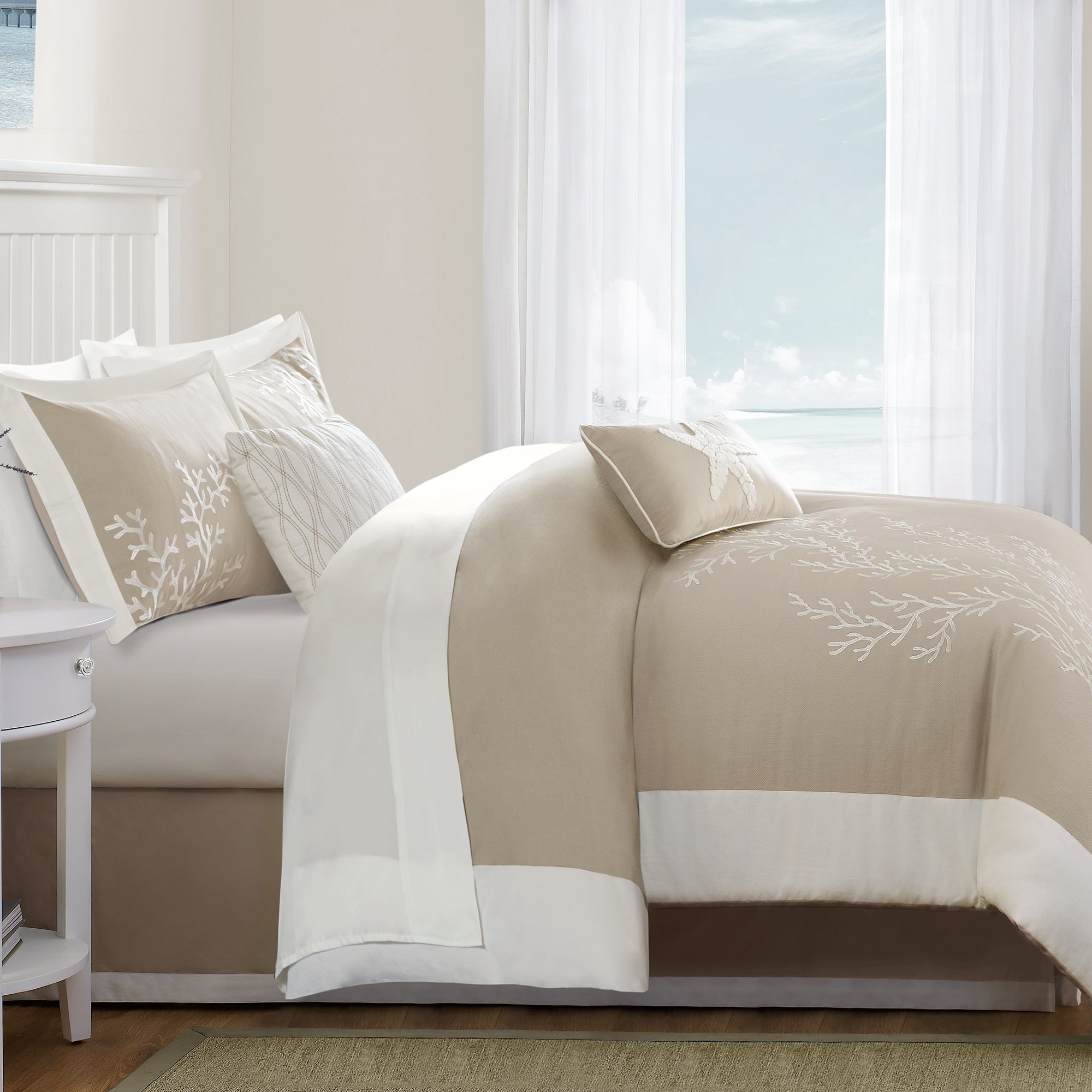 twin bag camel dorm comforter khaki sets cc set in large a clara bed clark bedding x piece products
