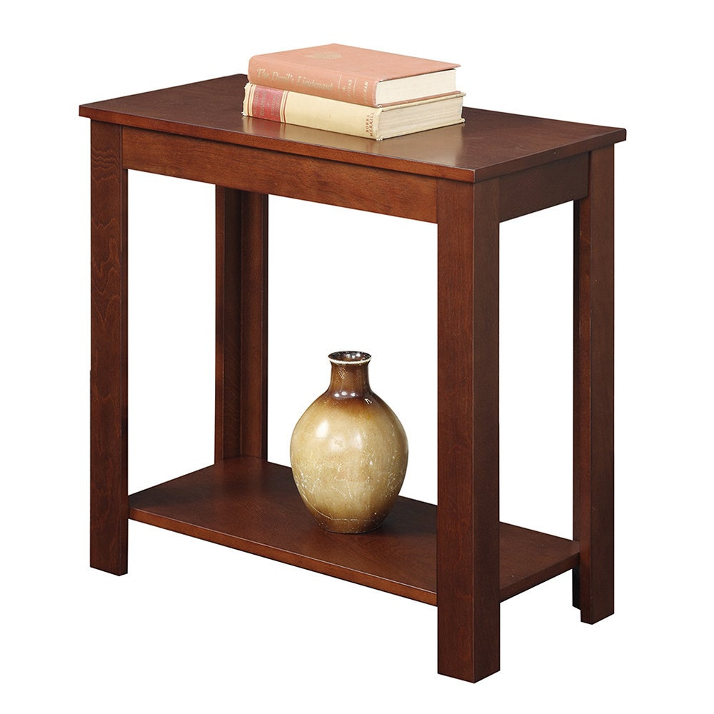 Shop Porch U0026 Den Bywater Louisa Chairside End Table   Free Shipping Today    Overstock.com   20559135
