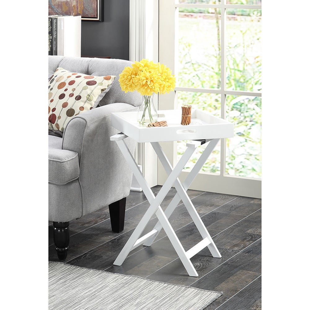 Convenience Concepts Designs2go Baja Removable Tray End Table Free Shipping Today 18933392