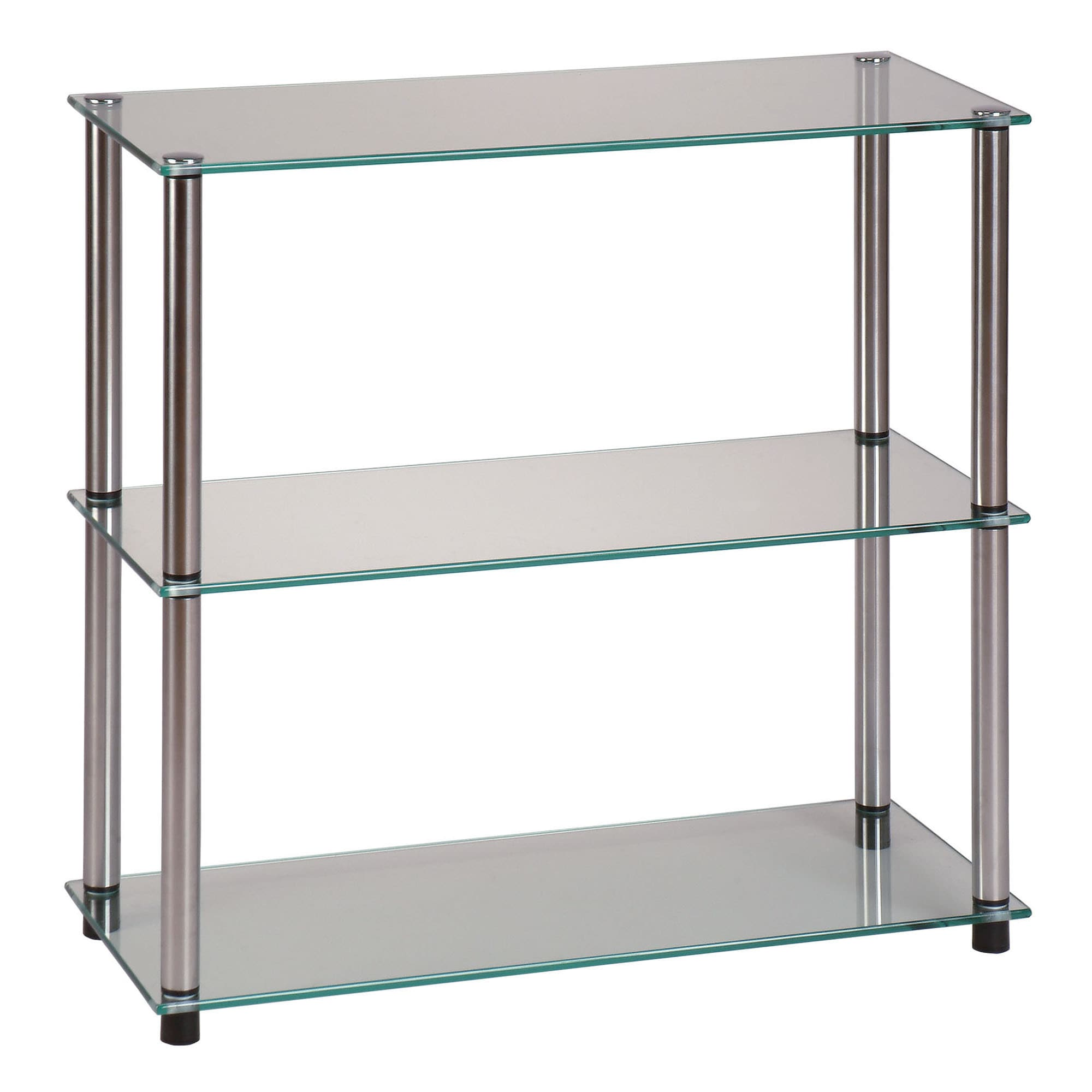 catalog ikea unit vittsj brown products glass us bookcases en bookcase black shelf
