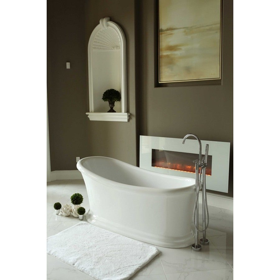 Shop Signature Bath Journey Freestanding Tub - Free Shipping Today ...