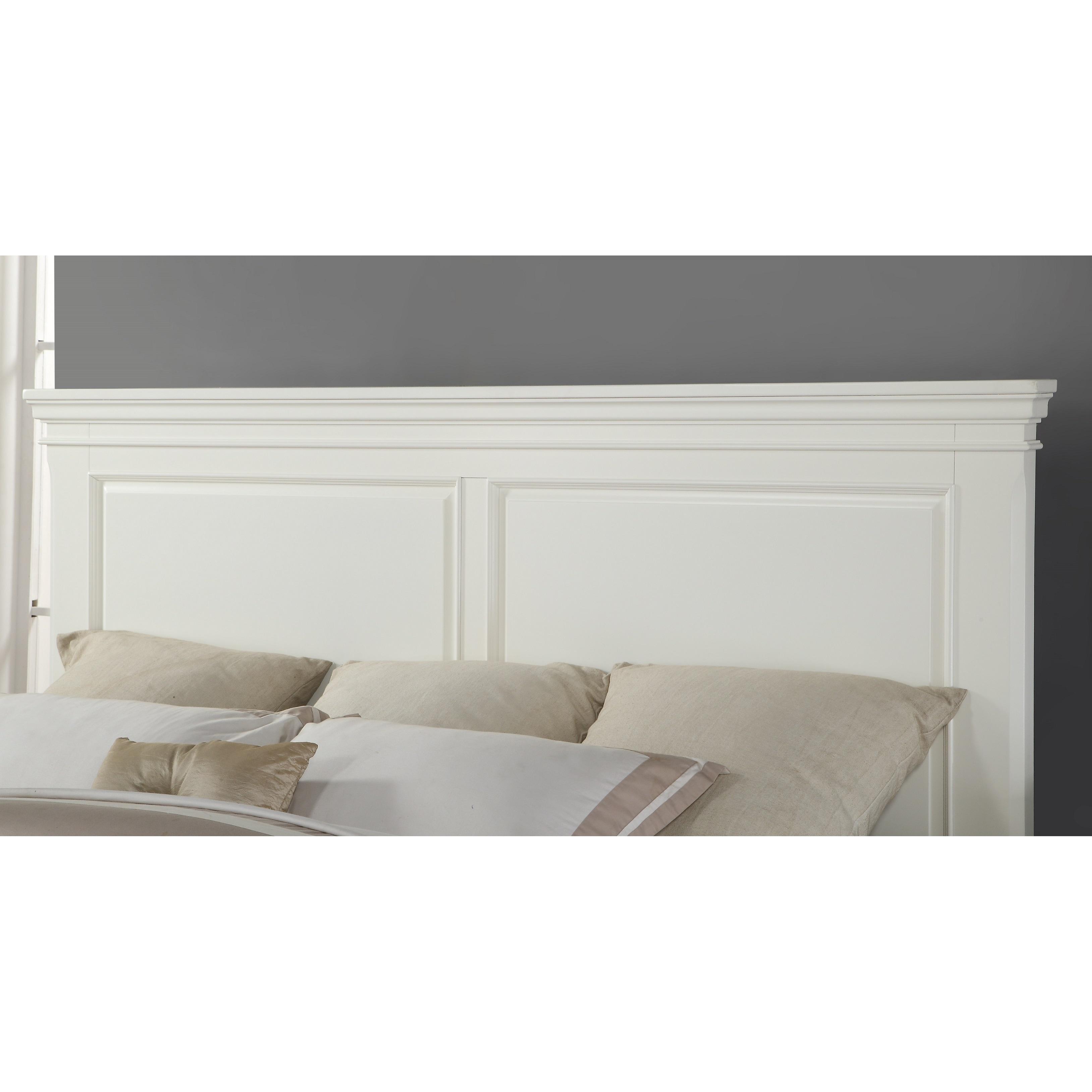 Laveno 012 White Wood Bedroom Furniture Set
