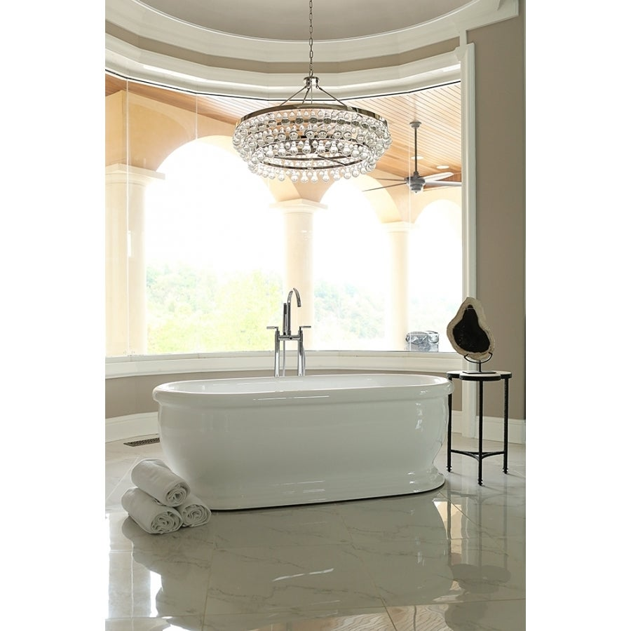 Signature Bath White Acrylic Freestanding Bathtub - Free Shipping ...