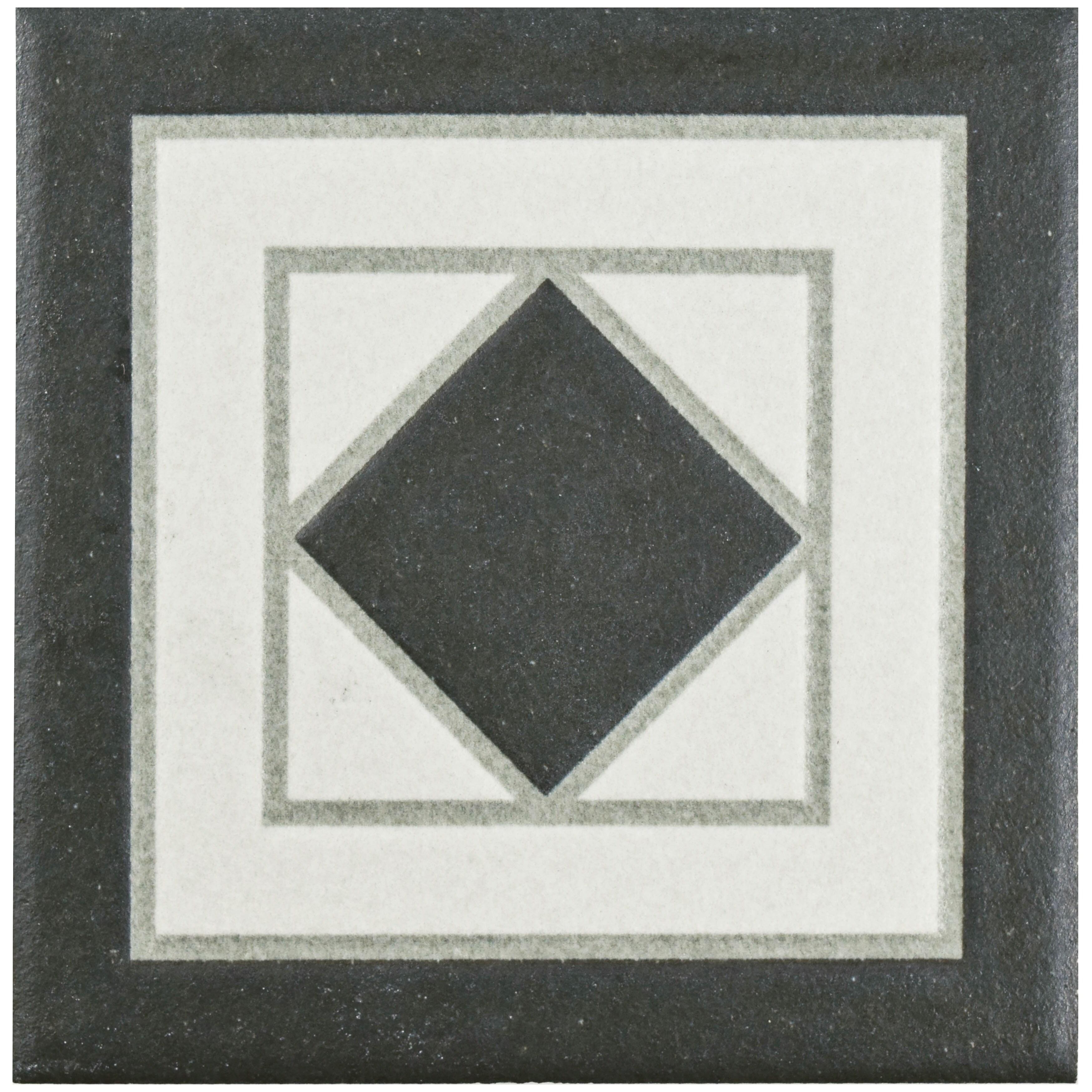 Shop SomerTile 4.25x4.25-inch Narcissus Blanco Porcelain Corner Trim ...