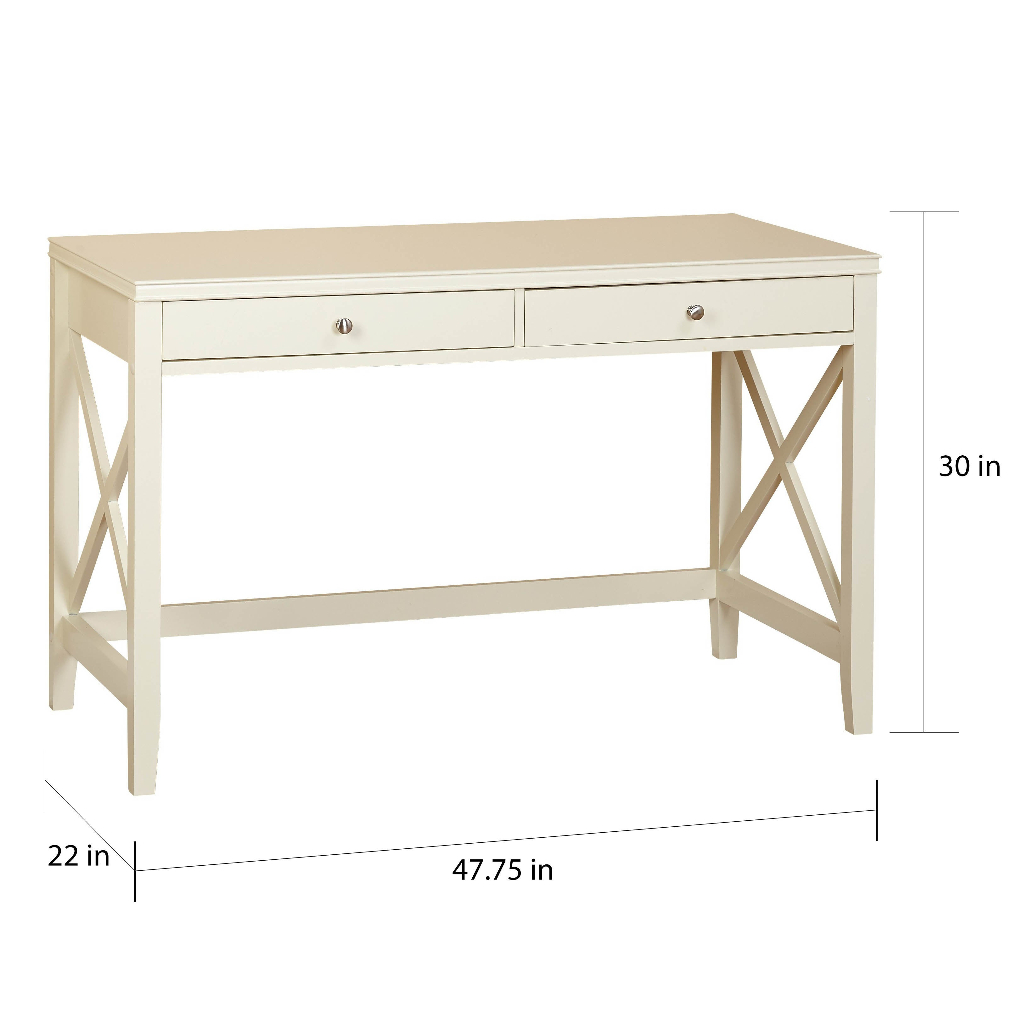 Simple Living Anderson X Desk - Free Shipping Today - Overstock.com -  18933664