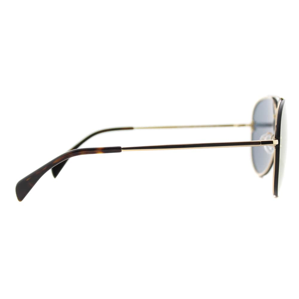 64fda661d5c09 Shop Celine CL 41391 Mirror J5G-MV Gold Metal Aviator Sunglasses Bronze  Mirror Lens - Free Shipping Today - Overstock - 12065854