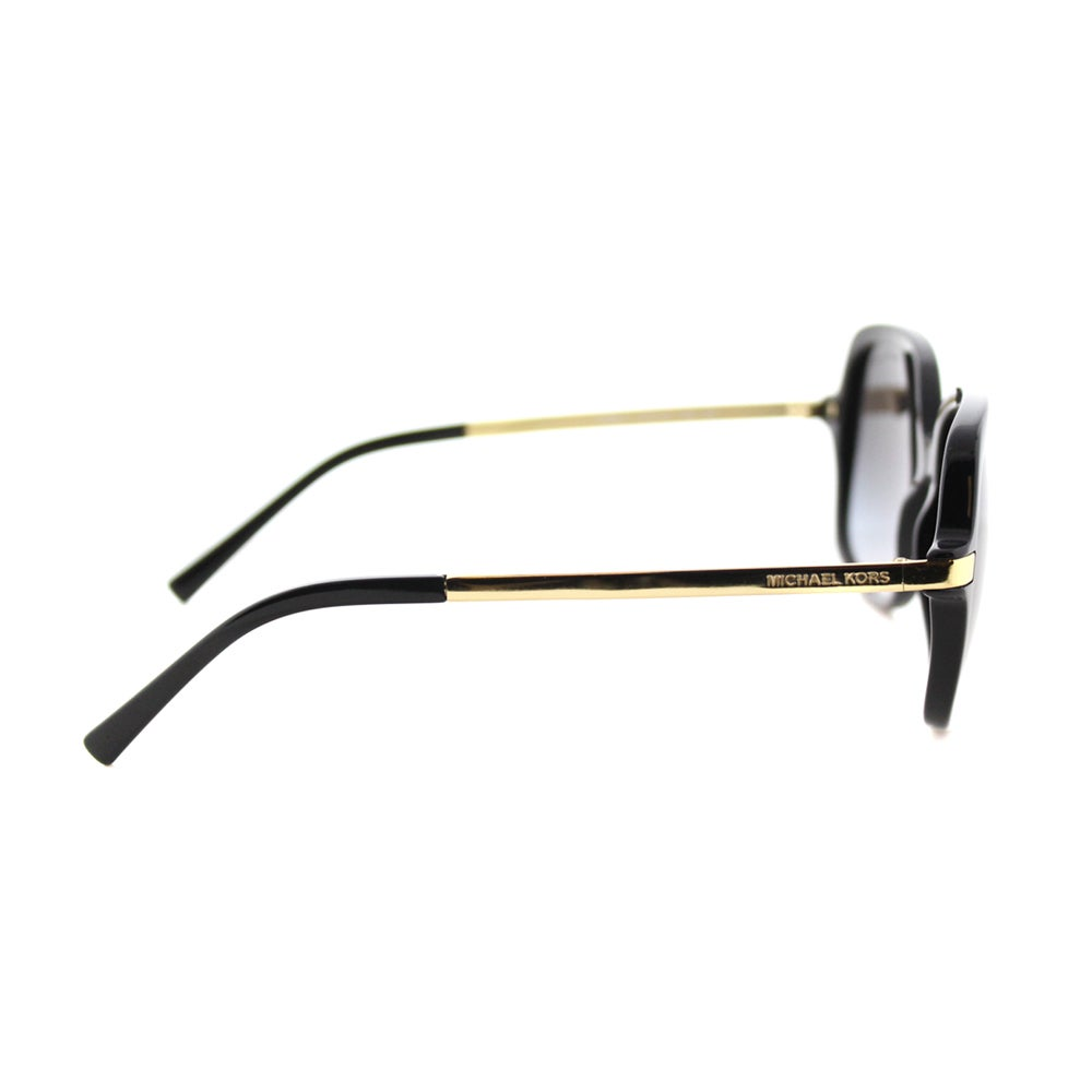 3f1136b3320eb Shop Michael Kors MK 2024 316011 Adrianna II Black Plastic Square Sunglasses  Grey Gradient Lens - Free Shipping Today - Overstock - 12065859