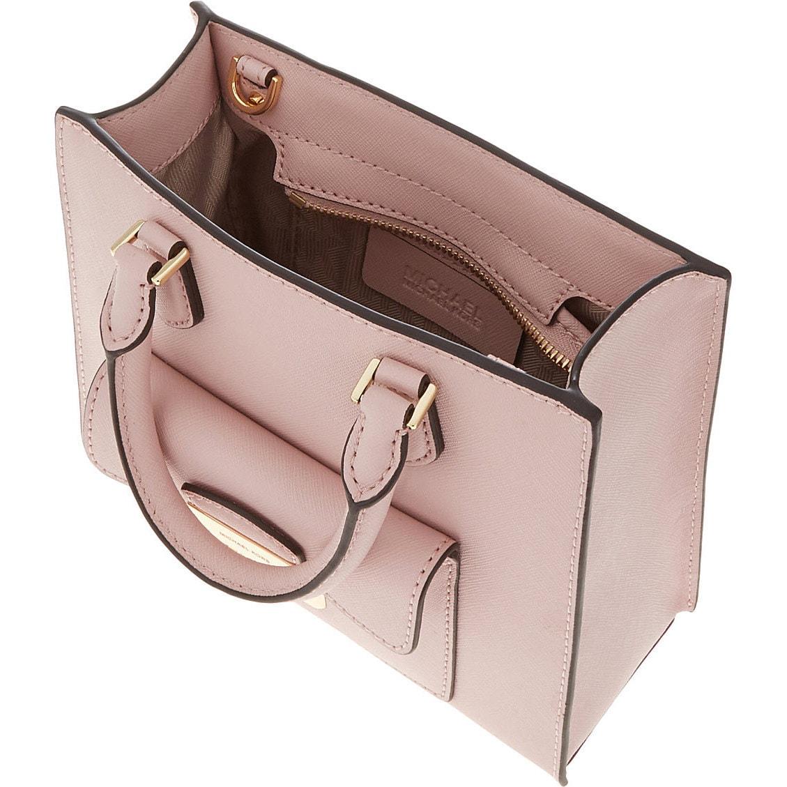 5da0f04db305 Shop Michael Kors Bridgette Blossom Medium East West Saffiano Leather Tote  Bag - Free Shipping Today - Overstock - 12068523