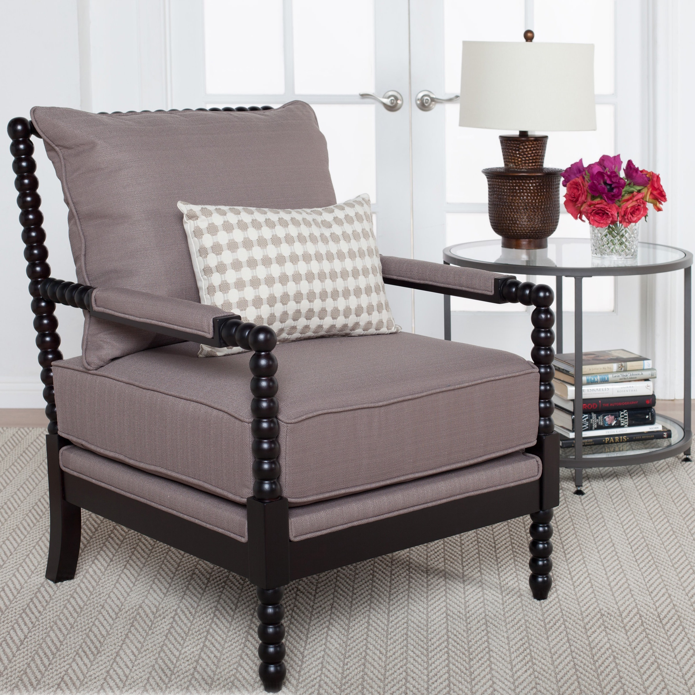 Shop Studio Designs Home Colonnade Spindle Chair - On Sale - Free Shipping Today - Overstock.com - 12069952 & Shop Studio Designs Home Colonnade Spindle Chair - On Sale - Free ...
