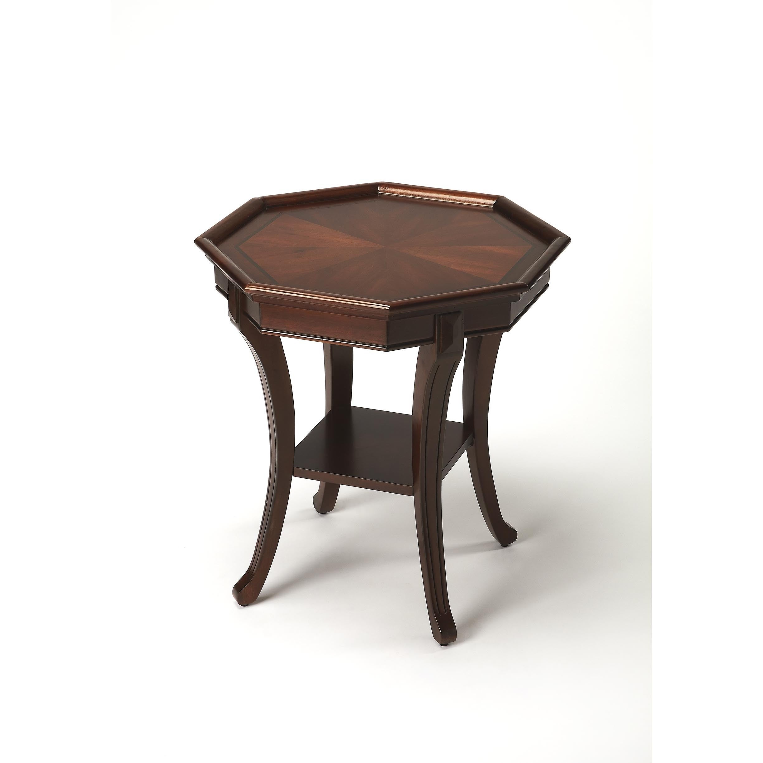 Shop Handmade Butler Kingston Plantation Cherry Wood End Table