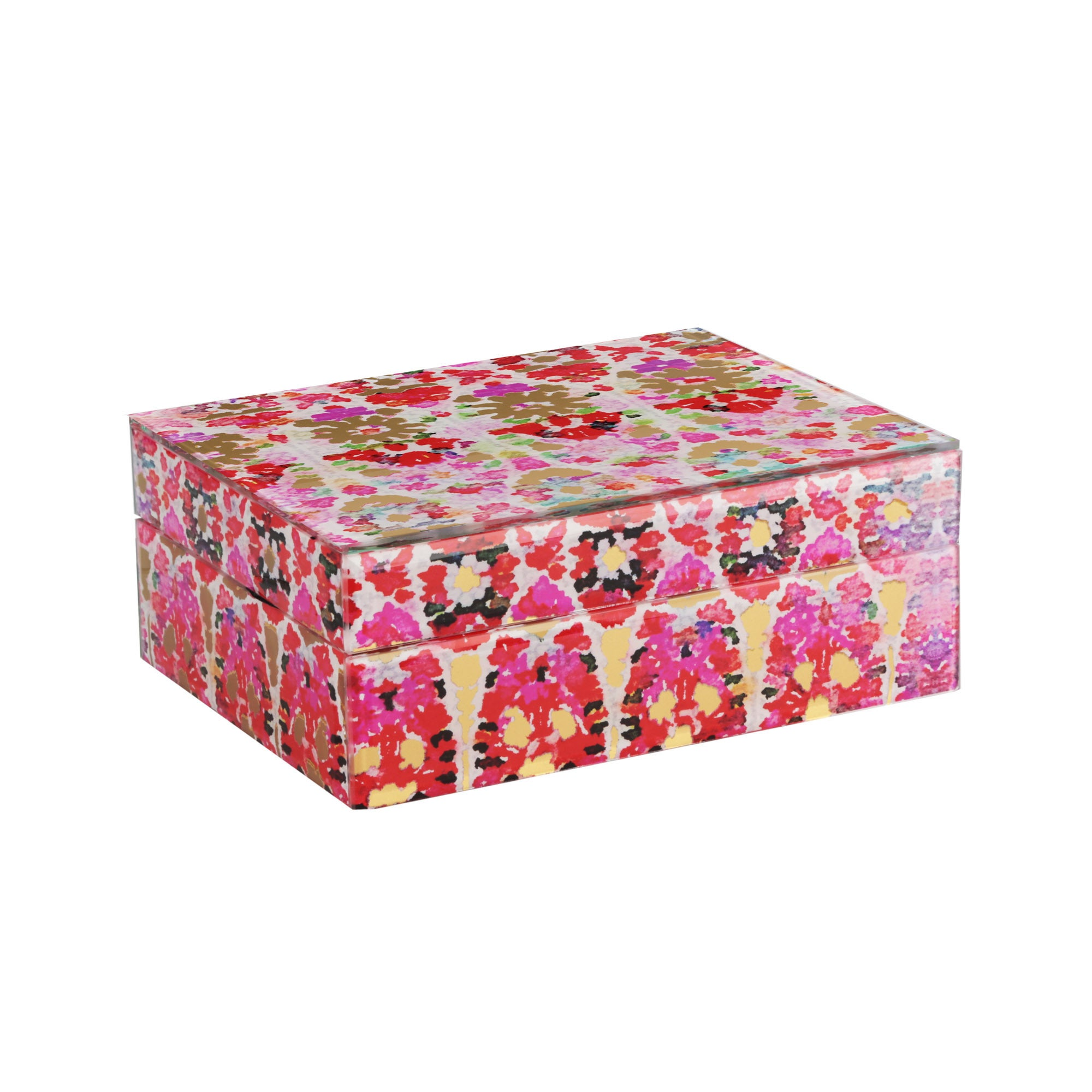 Glass Collage Jewelry Box Free Shipping On Orders Over 45