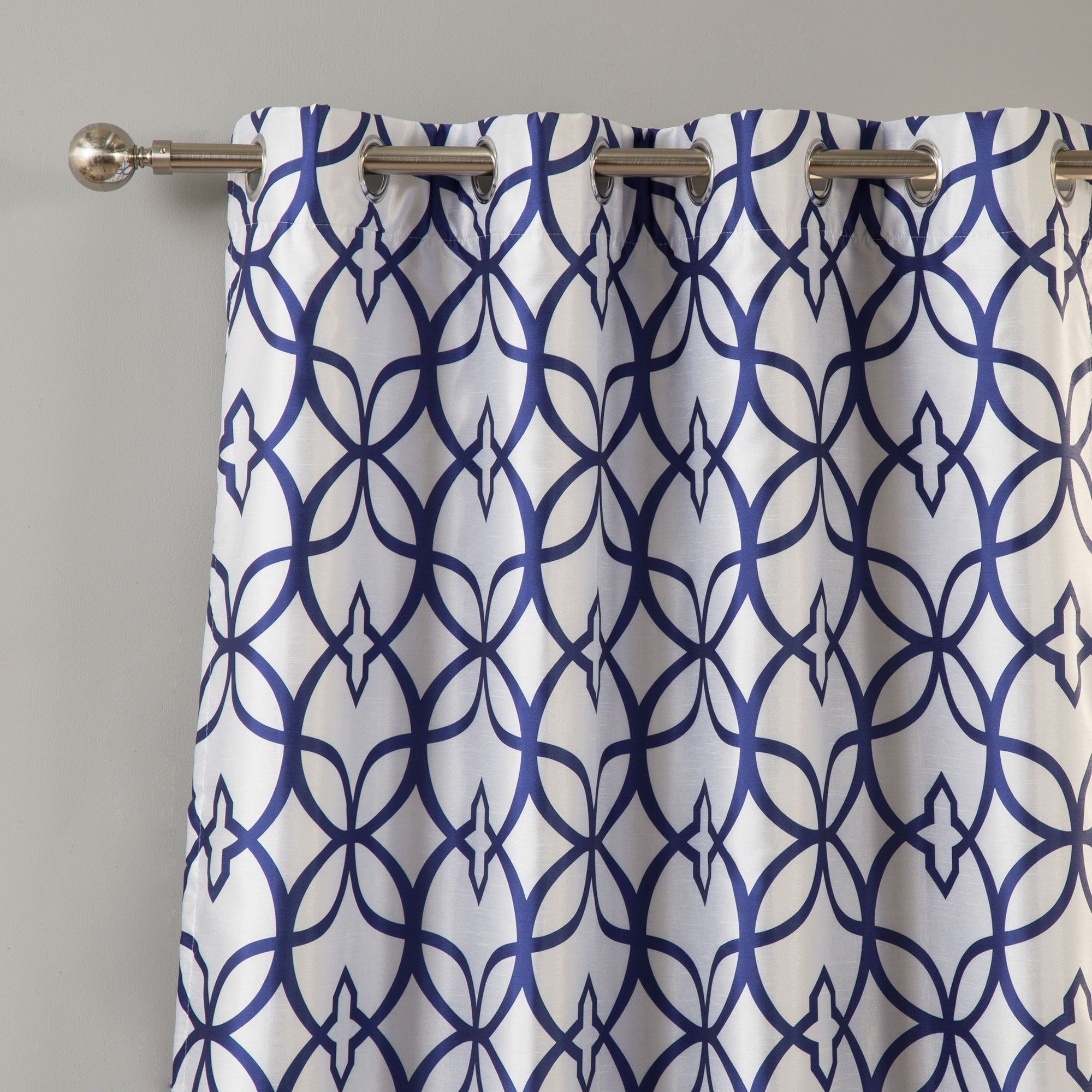 panel drapes horizontal panels and stripe length carousel curtains width geometric standard coordinating large inch lining drape navy