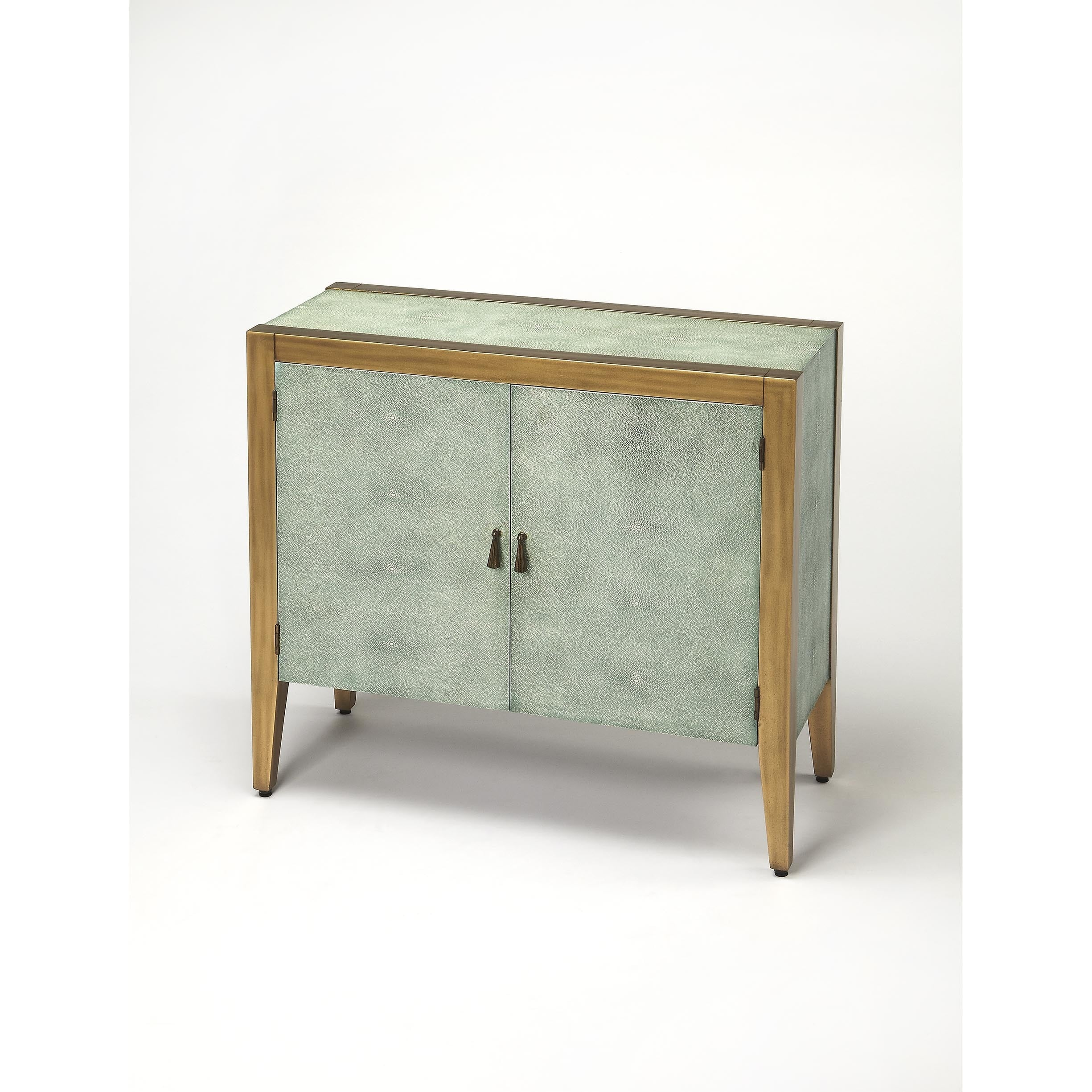 Shop butler apollonia shagreen console cabinet free shipping today overstock com 12074655