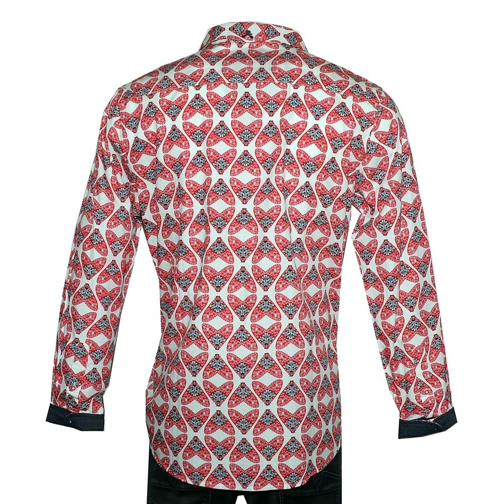 Shop Mens Flys In A Jar Long Sleeve Fashion Button Up Shirt By