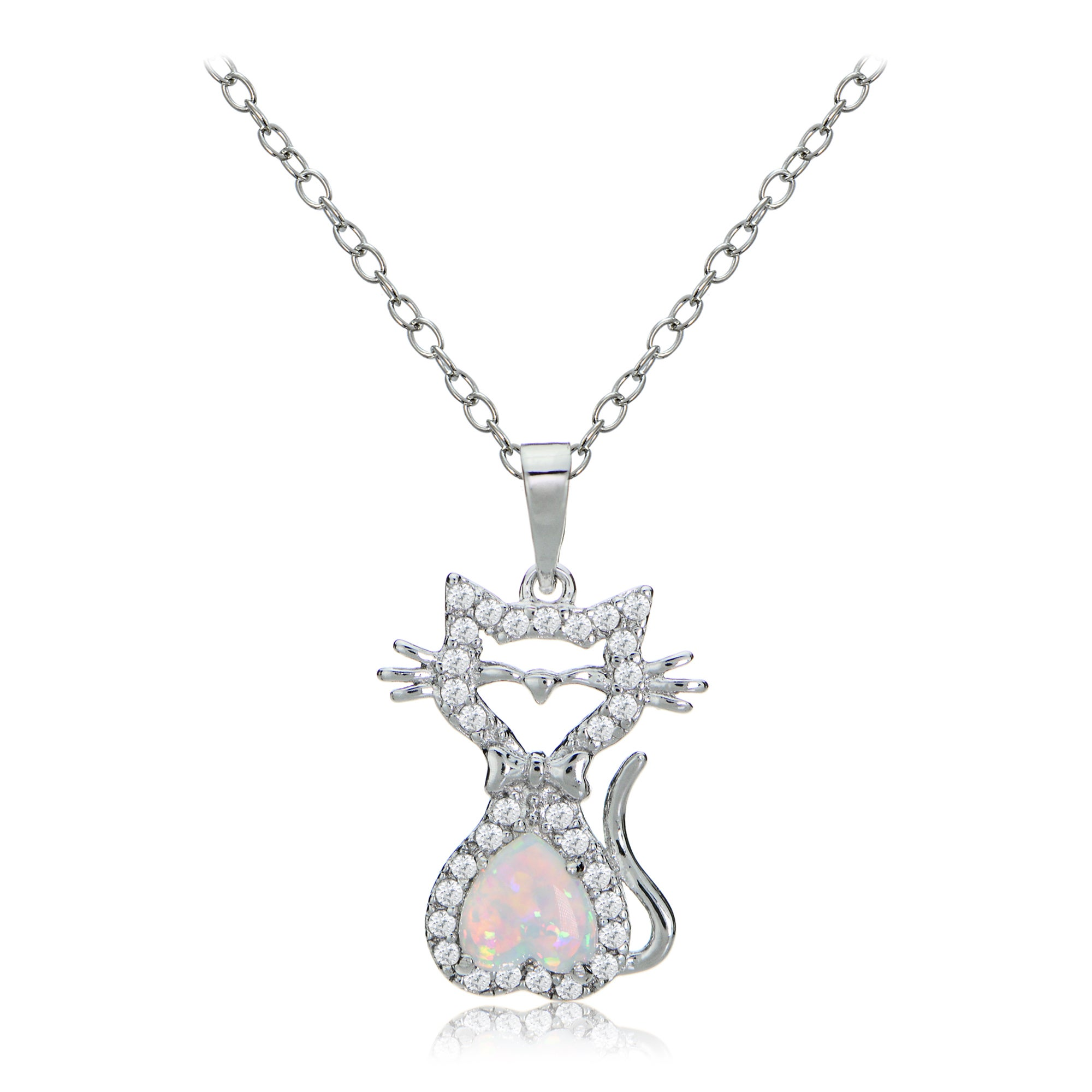 cut logan w diamonds trillion wilderness white opal rose necklace products