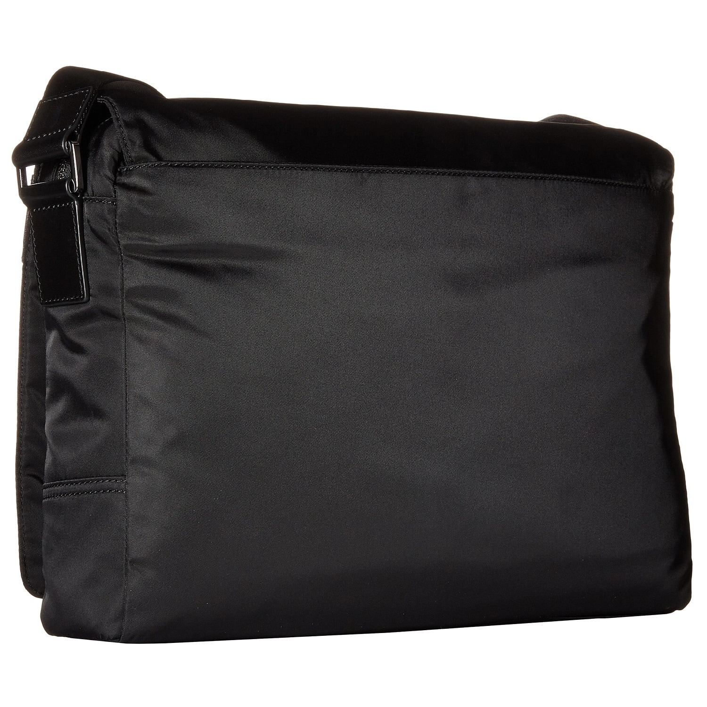 5f5c36eb520c Shop Michael Kors Kent Black Nylon Large Crossbody Messenger Bag - Free  Shipping Today - Overstock - 12078288