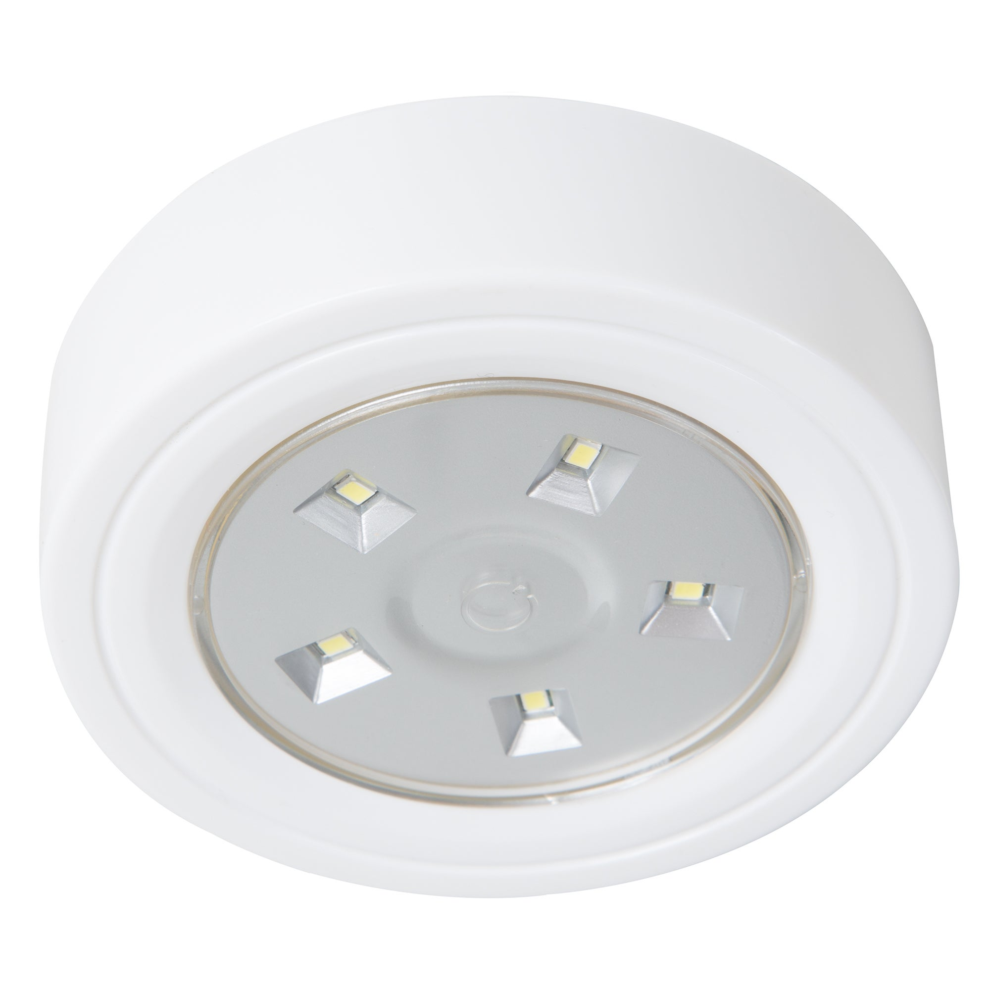 Lavish Home 5 LED Portable Puck and Ceiling Light with Remote ...