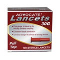 Advocate 30G Pulltop Lancets (100 Count)