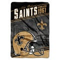 NFL 076 Saints Stagger Micro Oversize Throw