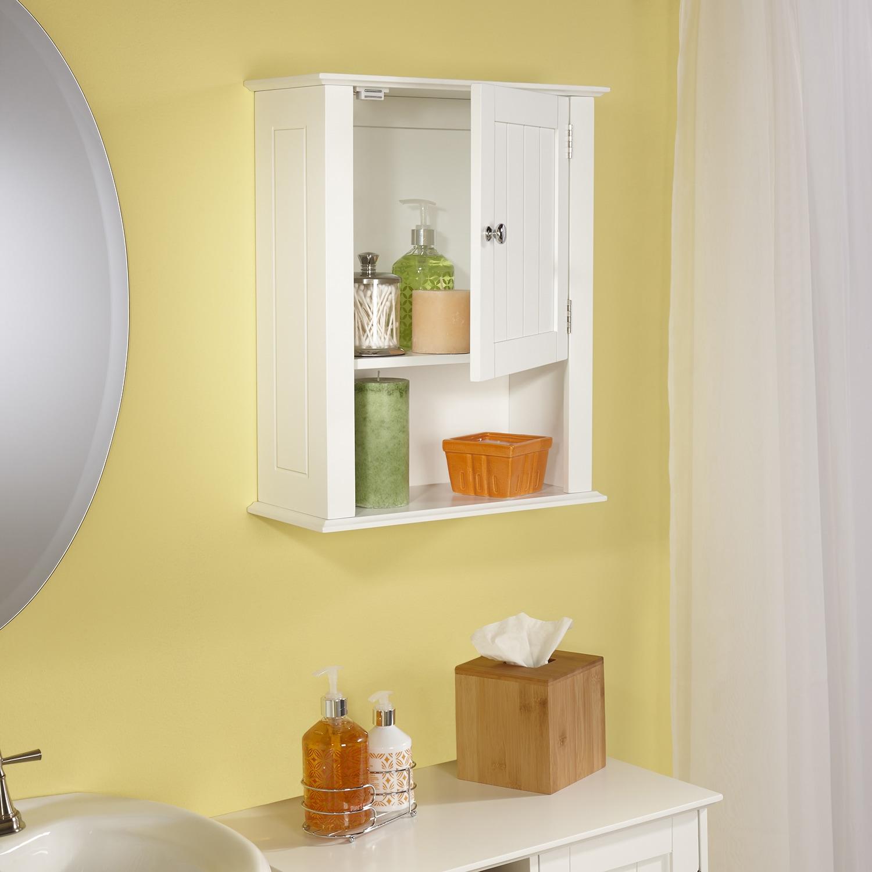 RiverRidge Ashland Collection Single door Wall Cabinet Free