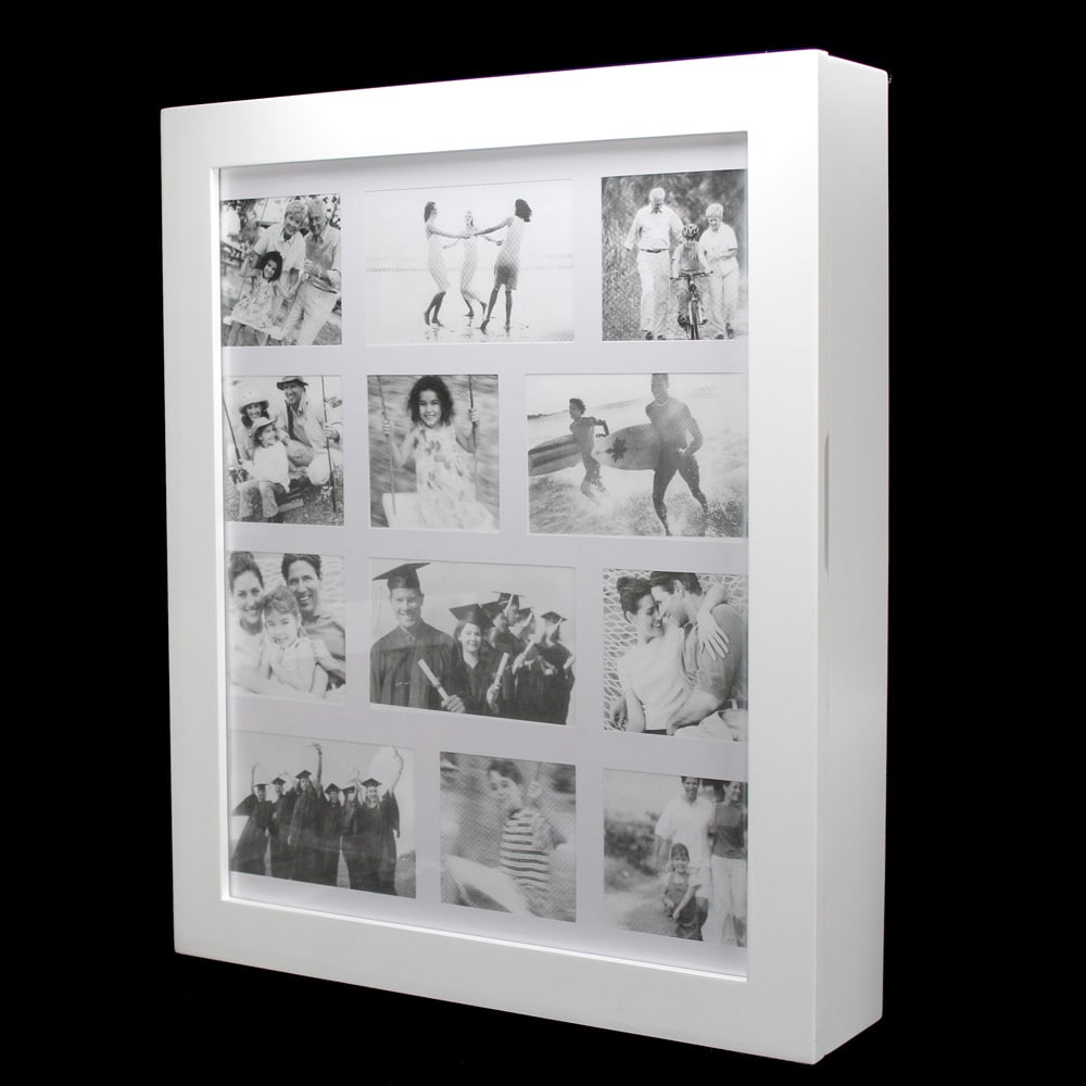 Shop Ikee Design Wall-mounted Jewelry Organizer with Photo Frame ...