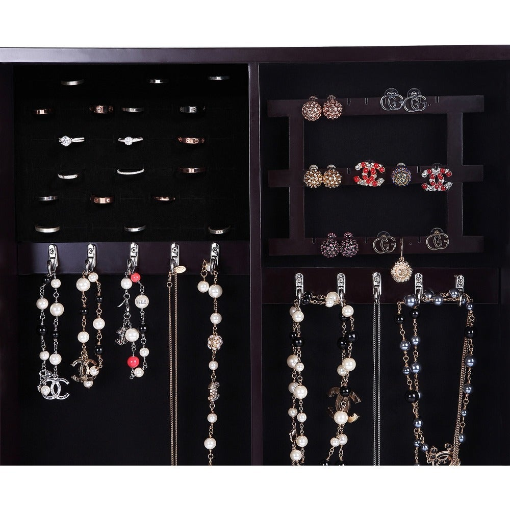 Ikee Design Wallmounted Jewelry Organizer with Photo Frame Free