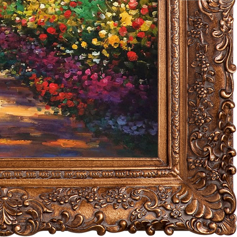 Shop Claude Monet \'Pathway in Monet\'s Garden at Giverny\' Hand ...
