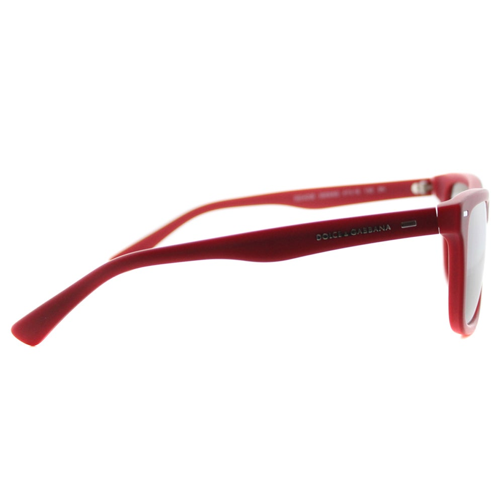 70d3e947150 Shop Dolce and Gabbana DG 4238 29096G Kids  Red Plastic Silver Mirror Lens  Square Sunglasses - Free Shipping Today - Overstock.com - 12095296