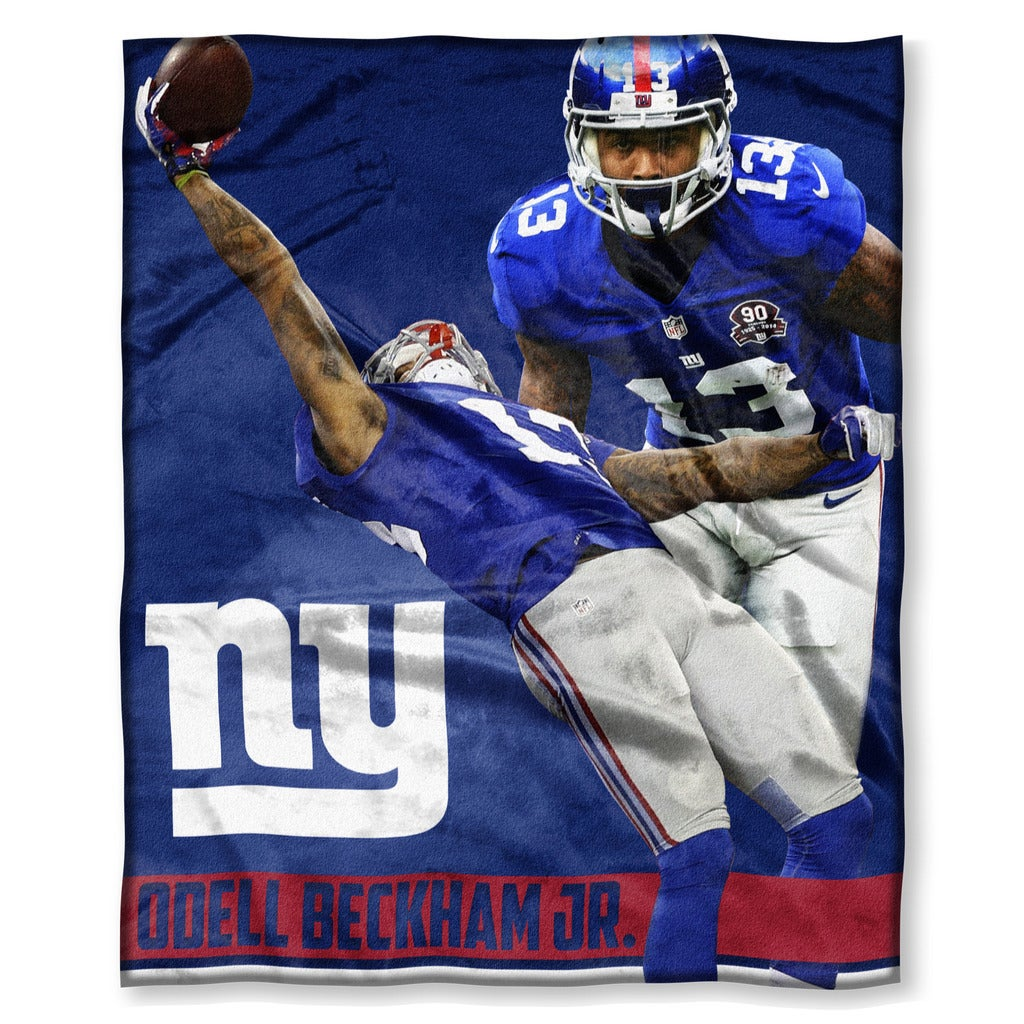 Shop NFL 575 NY Giants - Odell Beckham Jr. Silk Touch Throw - Free ...