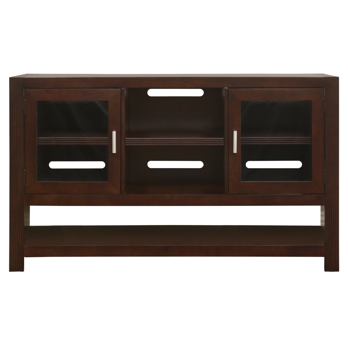 Shop Camus Brown Wood 36 Inch Tall Tv Stand Free Shipping Today