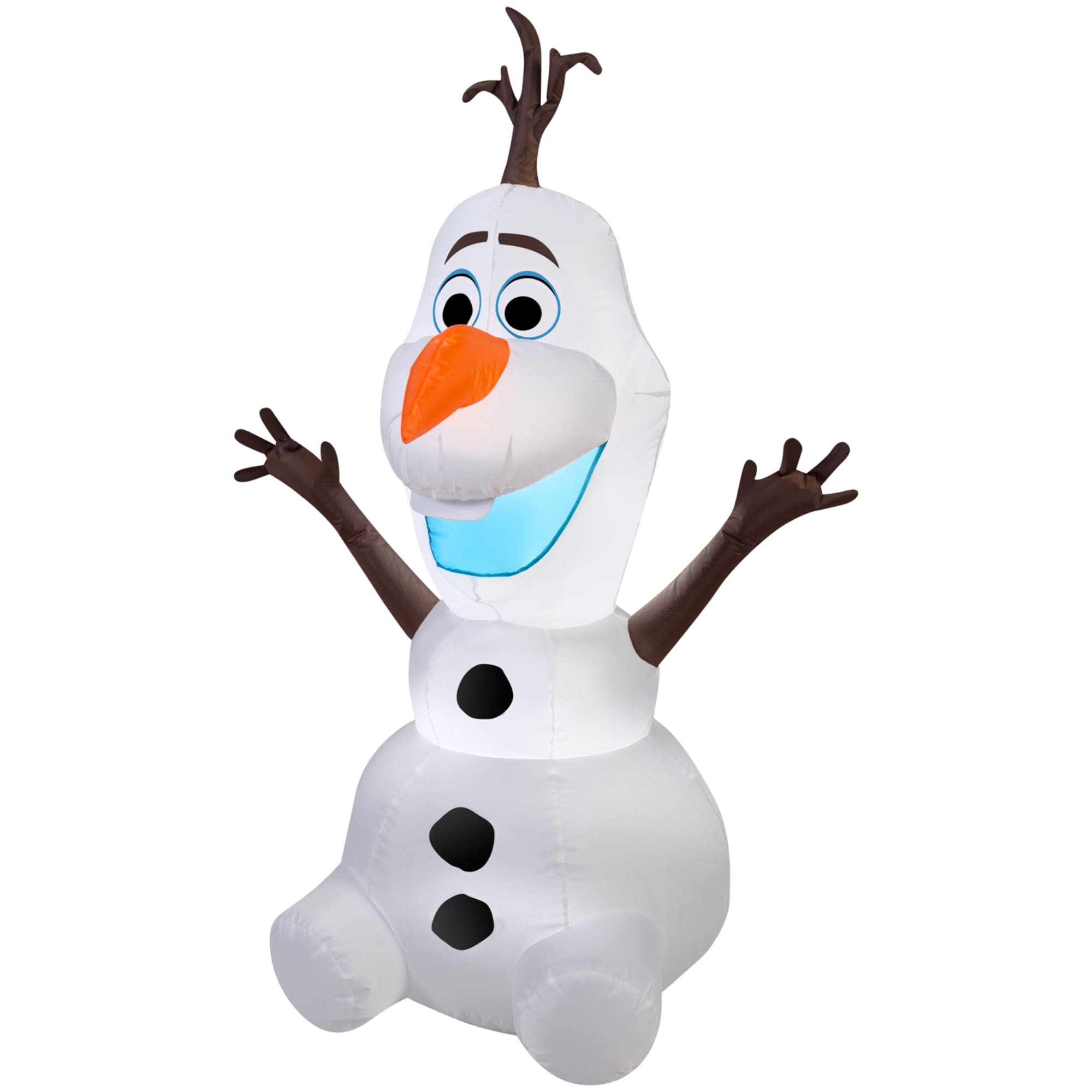 Shop Gemmy Airblown Inflatables \'Frozen\' Olaf - Ships To Canada ...