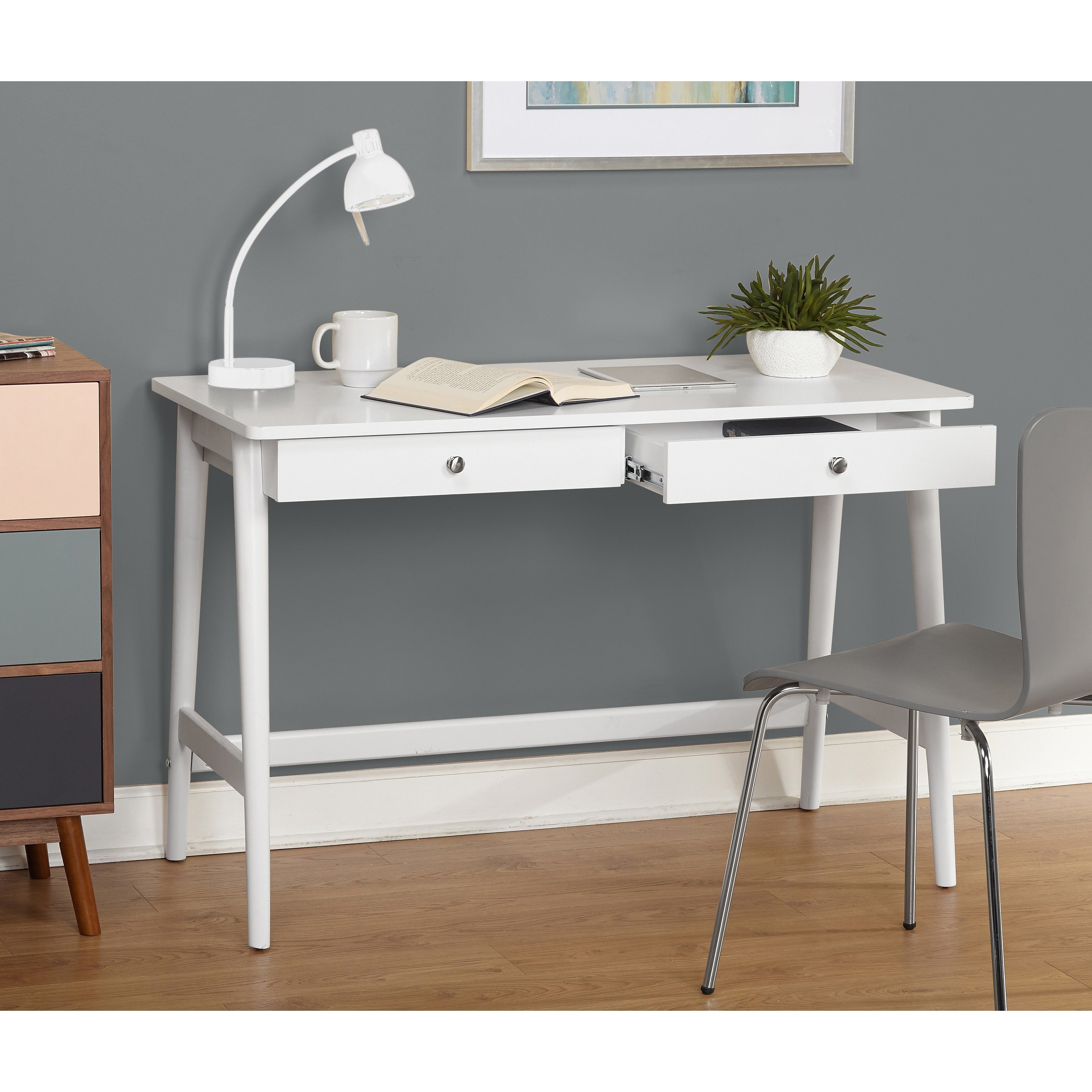 Simple Living Vera Mid Century Desk Free Shipping Today 18970567