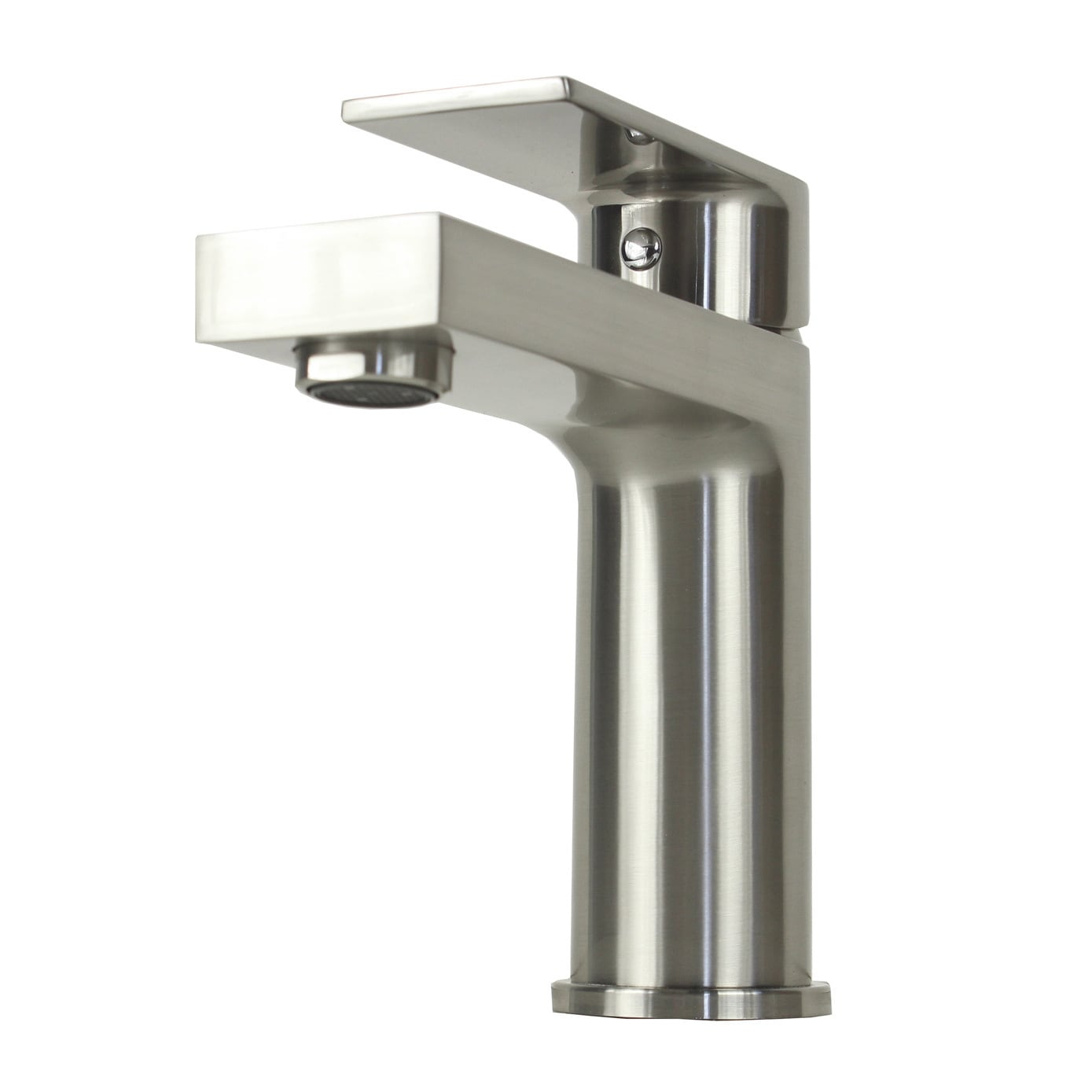 Anna Style Brushed Nickel Stainless Steel Lavatory Faucet - Free ...