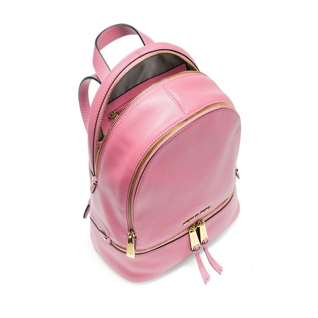 efa81ad122f7 Shop Michael Kors Rhea Misty Rose Zip Medium Fashion Backpack - Free  Shipping Today - Overstock - 12113493