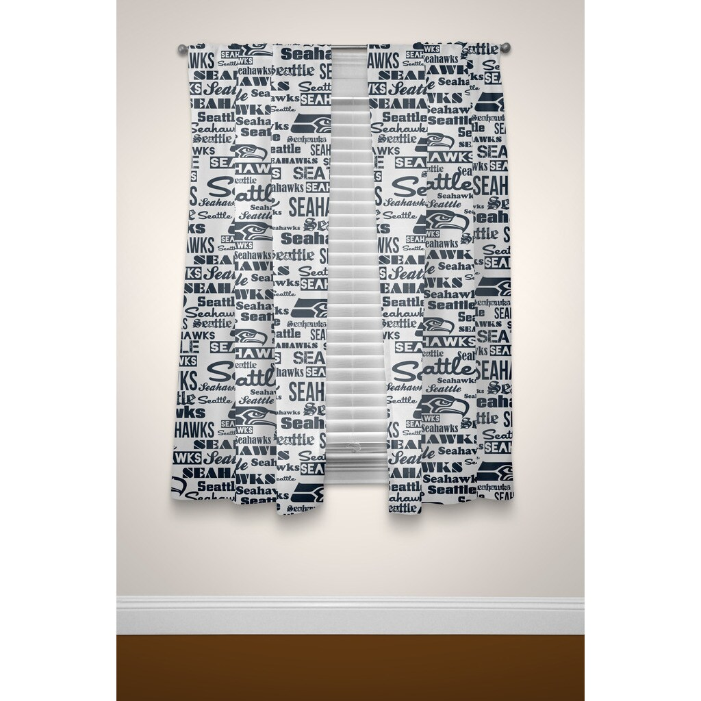 Shop The Northwest Company NFL Seahawks Curtain Panel Pair