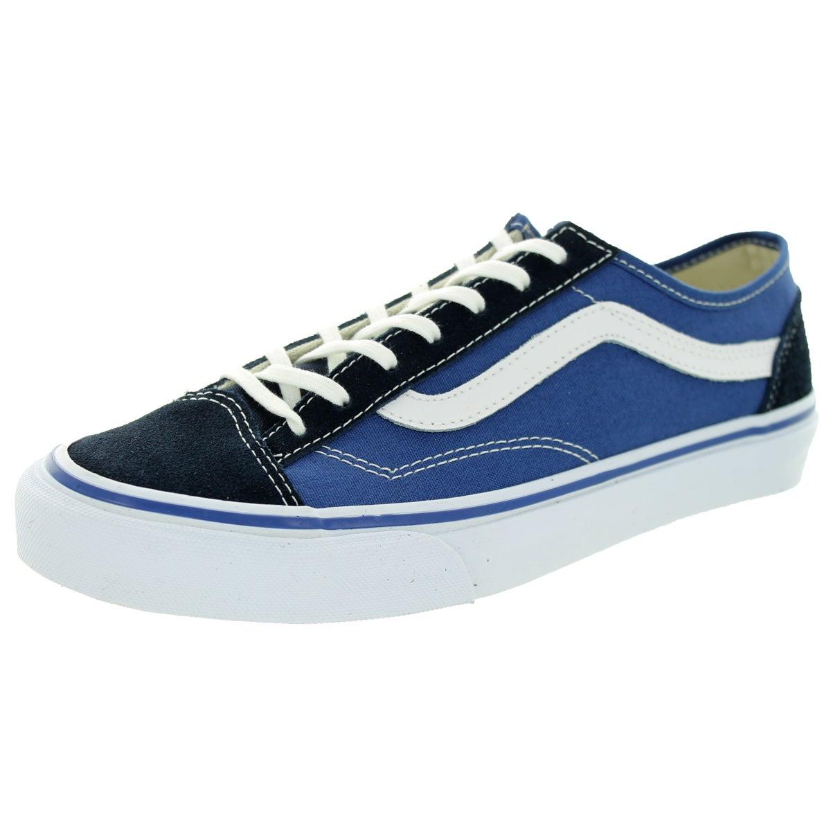 4058ba1a408b Shop Vans Unisex Style 36 Slim Navy Black White Skate Shoes - Free ...