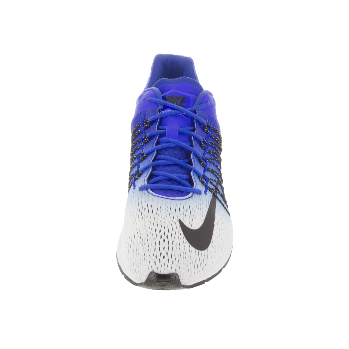 5c1b9e680441e Shop Nike Men s Air Zoom Streak 5 White Black Racer Blue Running Shoe -  Free Shipping Today - Overstock - 12115237
