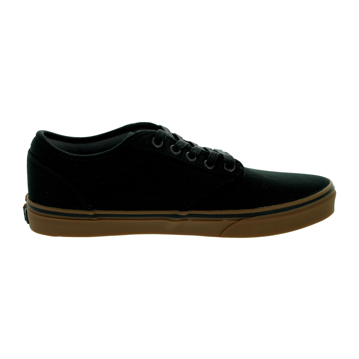f742dd4195 Shop Vans Men s Atwood Black Gum 12-ounce Canvas Skate Shoe - Free Shipping  Today - Overstock - 12115333