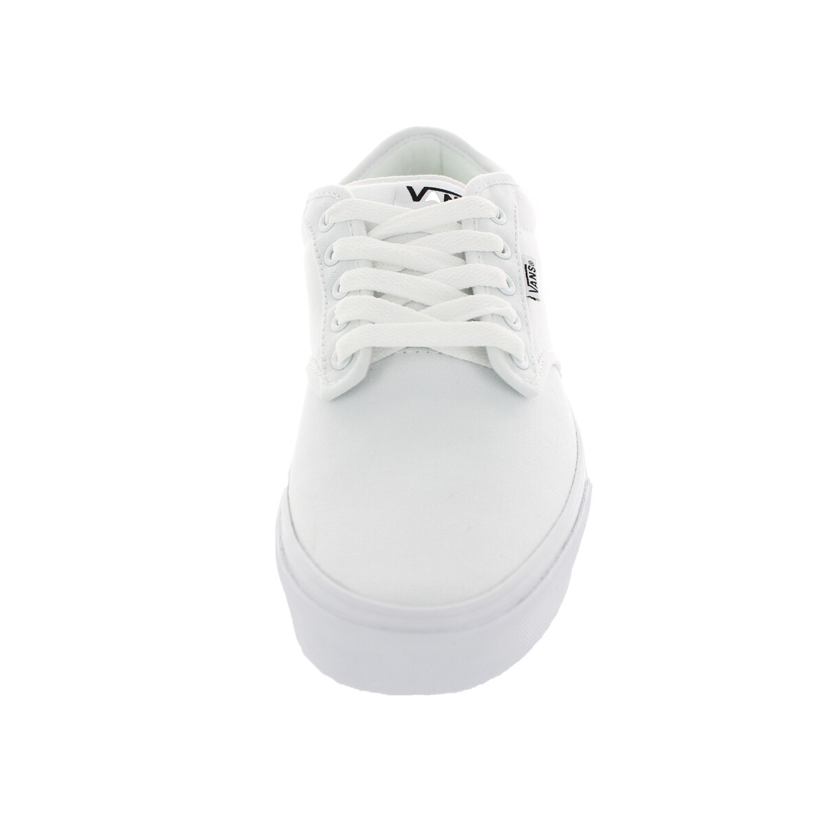 daeab87a4ef7 Shop Vans Men s Atwood White Canvas Skate Shoe - Free Shipping Today -  Overstock - 12115555