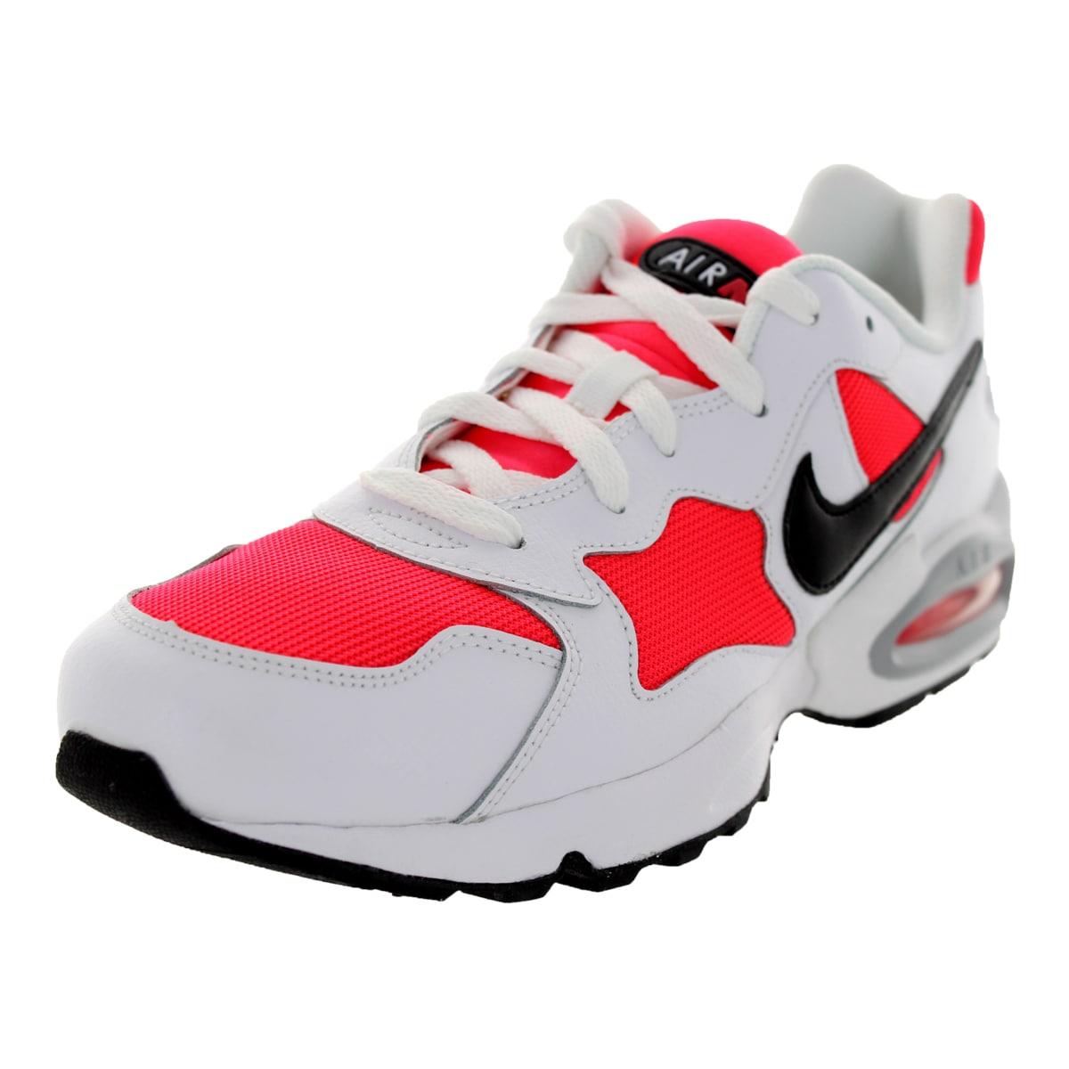 1d43827cd9e Shop Nike Men s Air Max Triax  94 Crimson Black White Running Shoe - Free  Shipping Today - Overstock.com - 12115638