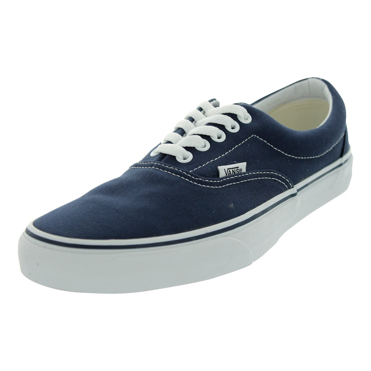 Shop Vans Era Blue Canvas Skate Shoes - Free Shipping On Orders Over ... fbc53f571e