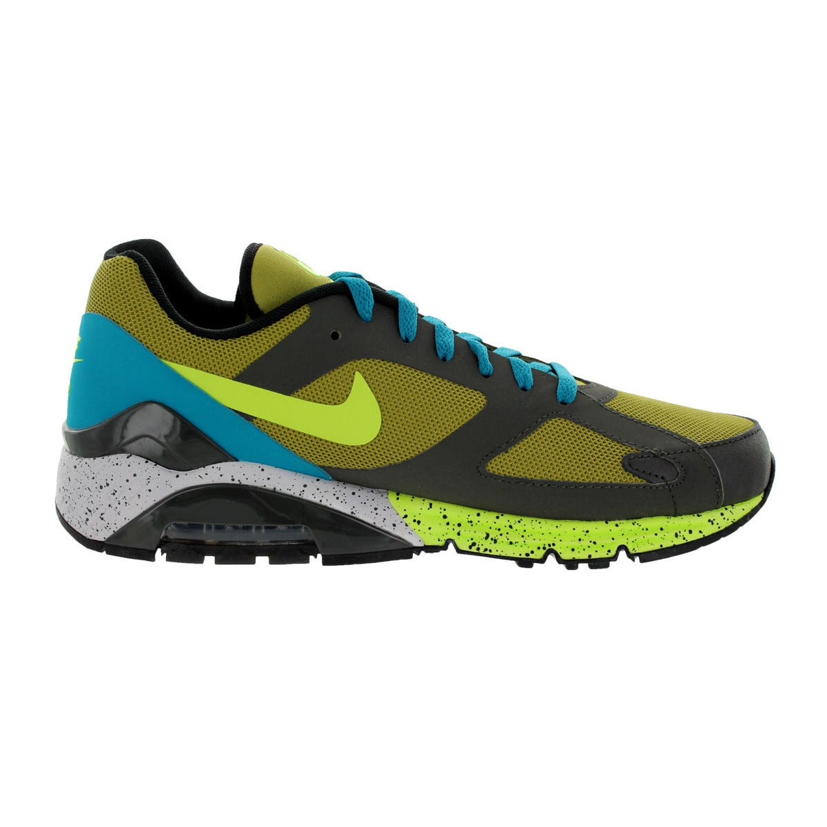 reputable site 6247e 83332 ... netherlands nike mens air max terra 180 gold multicolored suede running  shoe free shipping today overstock