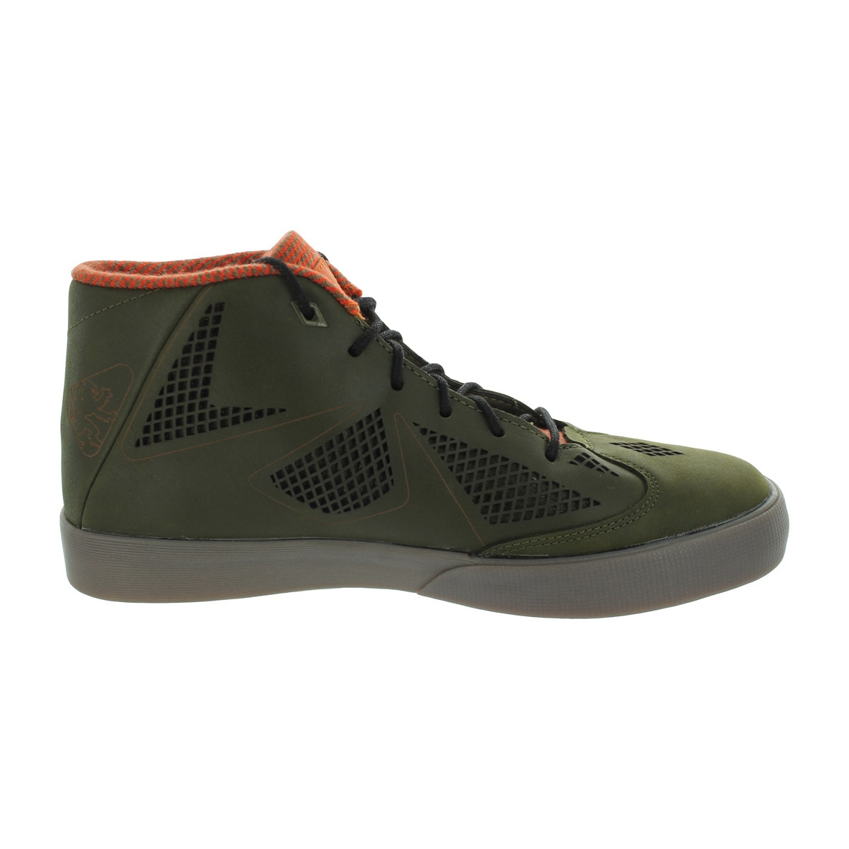 703d5c030309 Shop Nike Men s Lebron X NSW Lifestyle Green Leather Casual Shoe - Free  Shipping Today - Overstock - 12115673