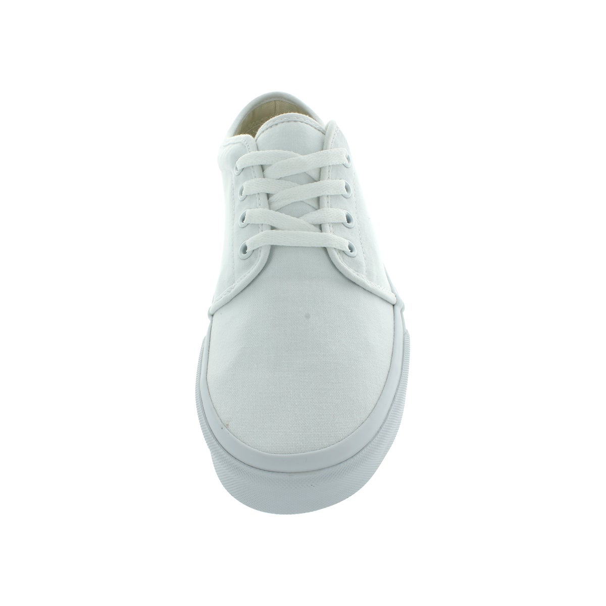 67548affa5 Shop Vans 106 Vulcanized White Canvas Skate Shoes - Ships To Canada -  Overstock - 12115729