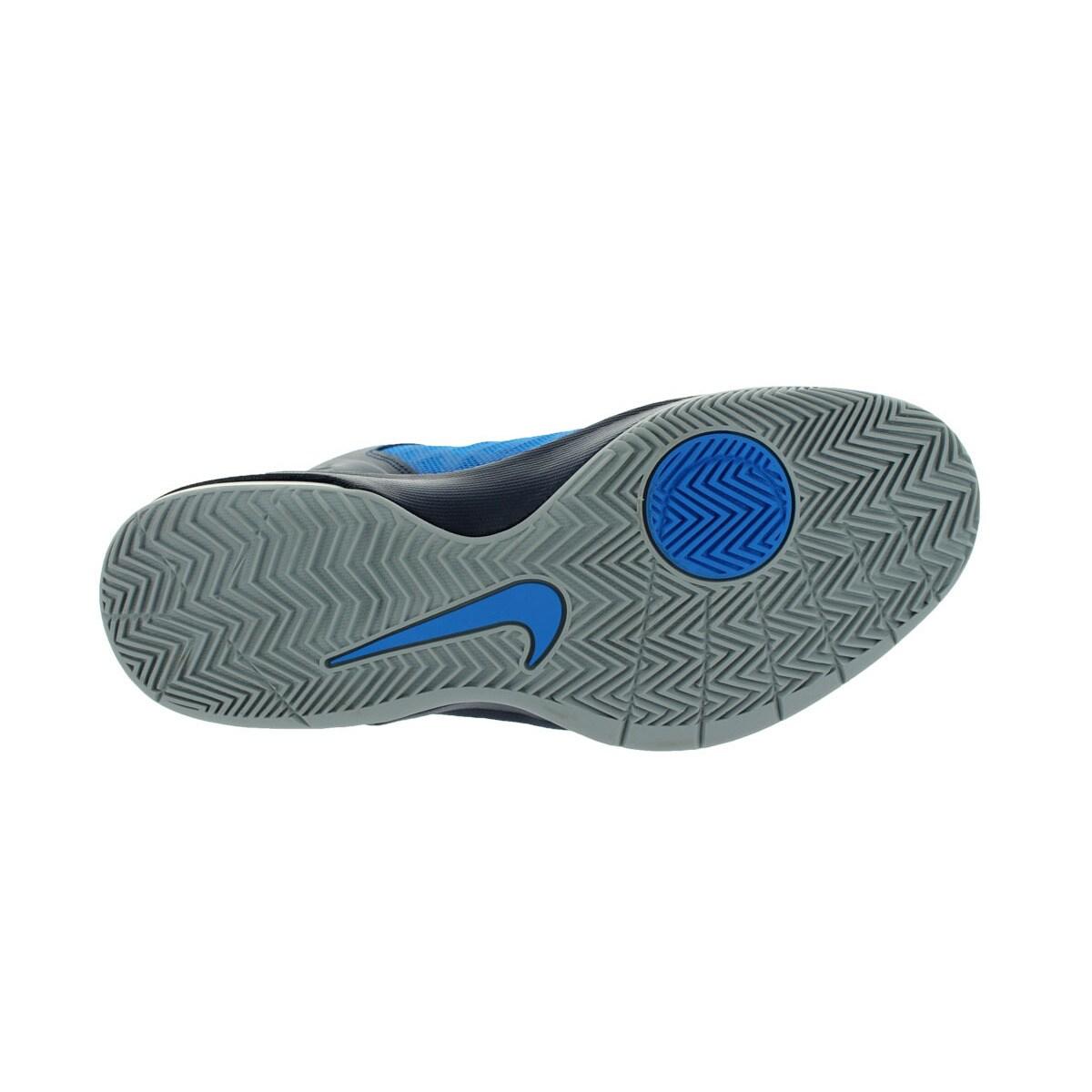 ff872baa6491 ... store shop nike mens air max body u mid height navy wolf grey orange  basketball shoe