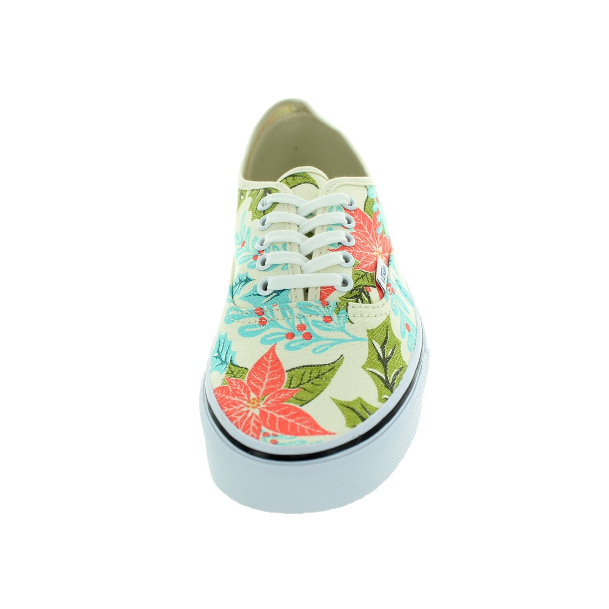 Shop Vans Unisex Authentic Van Doren Poinsettia Classic White Skate Shoes -  Free Shipping Today - Overstock - 12115843 9795e17e0